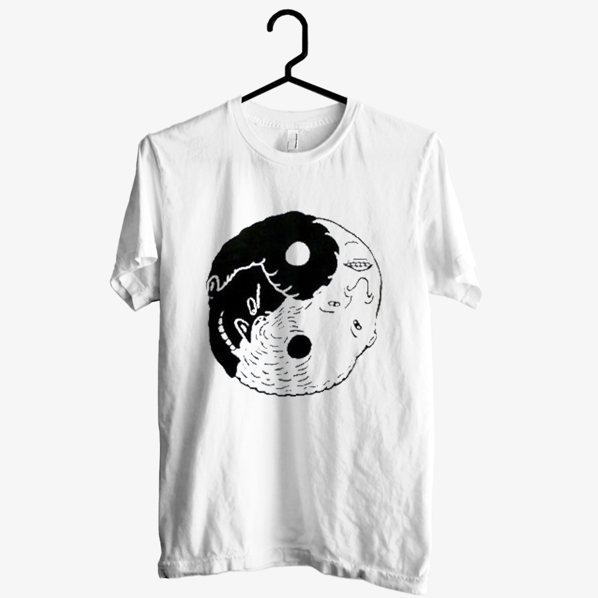 Beavis and Butt-Head Yin Yang T shirt