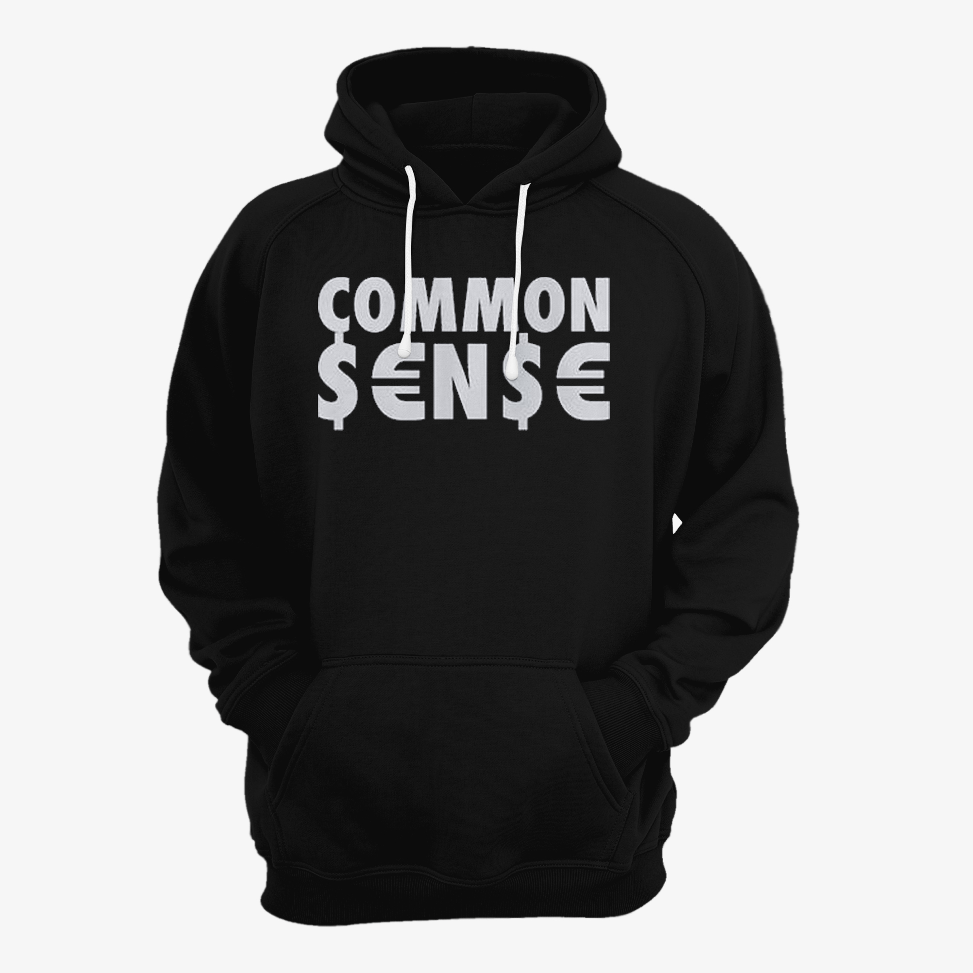 Common Sense Dollar Euro Cents Hoodie