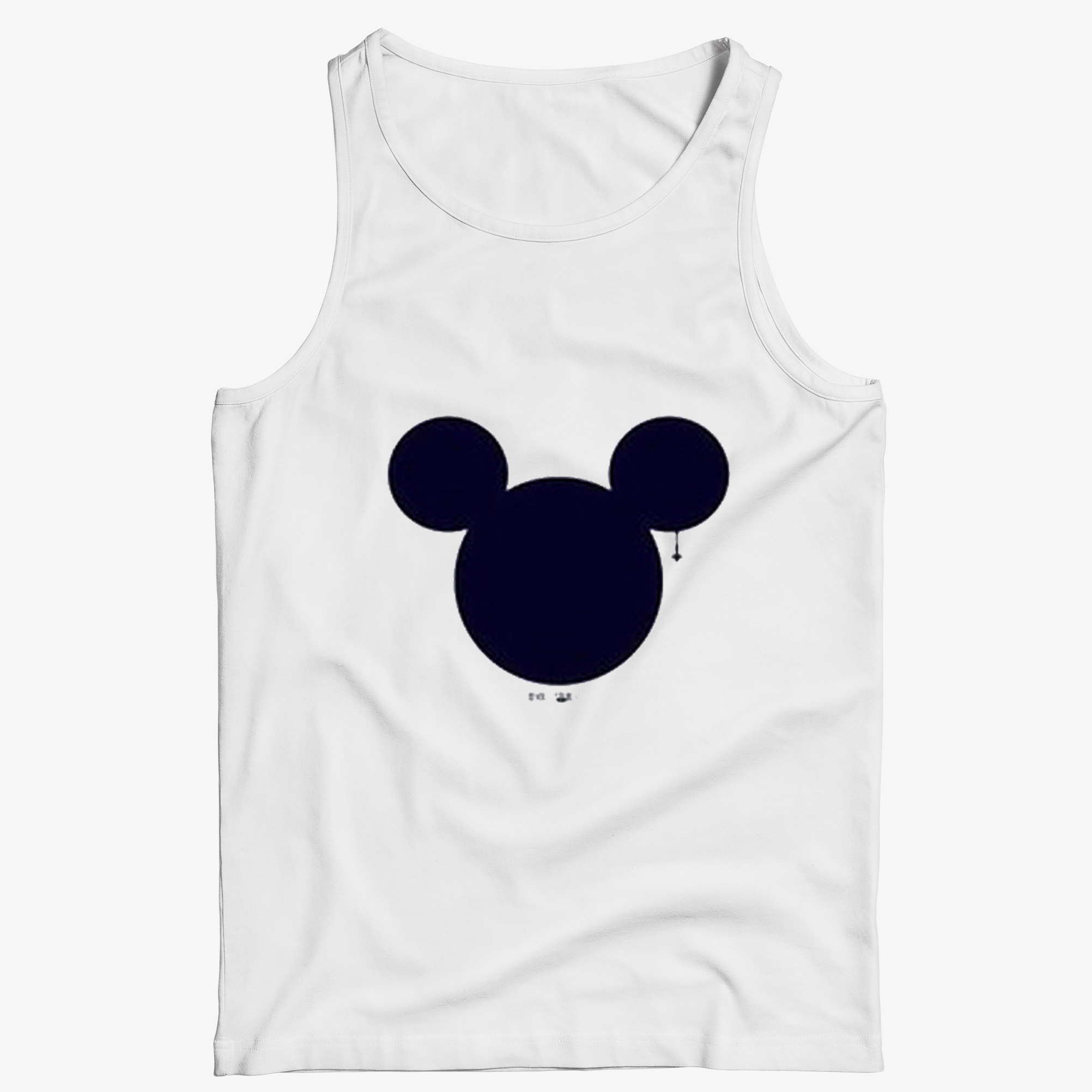 Mickey Mouse Head Tank Top