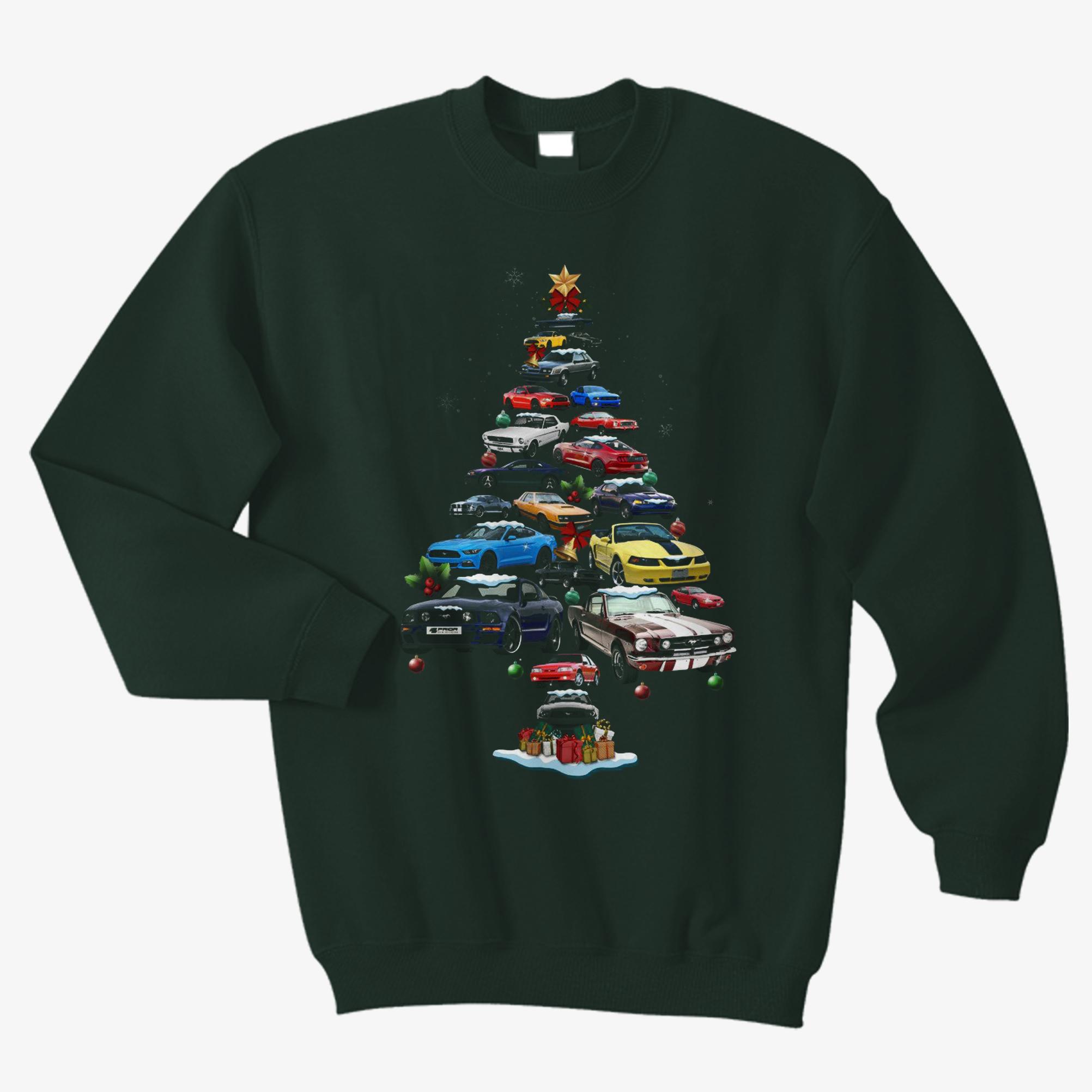 Mustang Christmas Sweatshirt