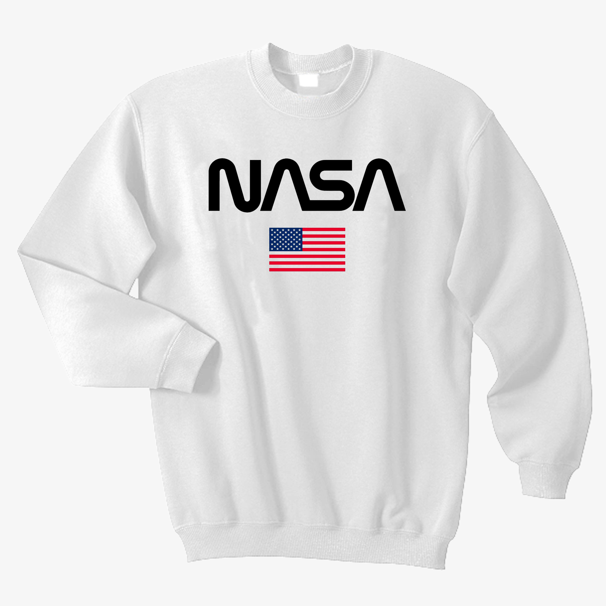 NASA Flag American Sweatshirt