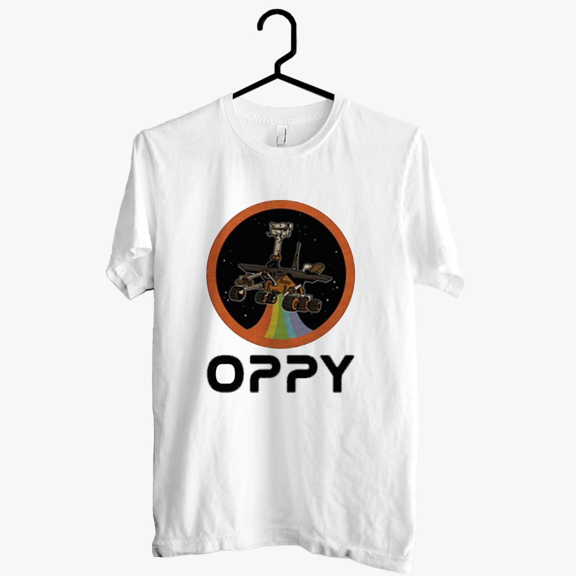 Oppy Nasa Parody T shirt
