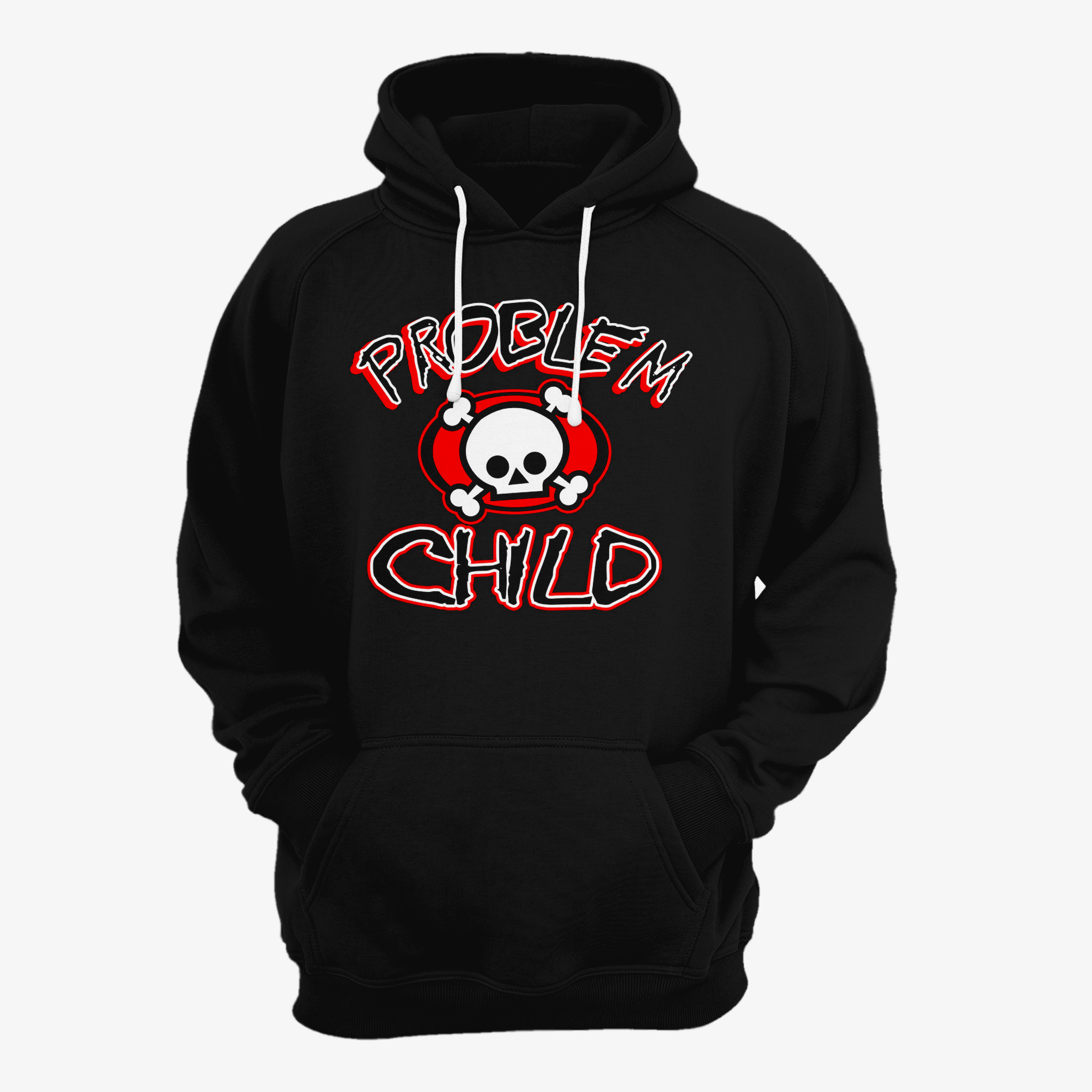 Problem Child Skull Hoodie