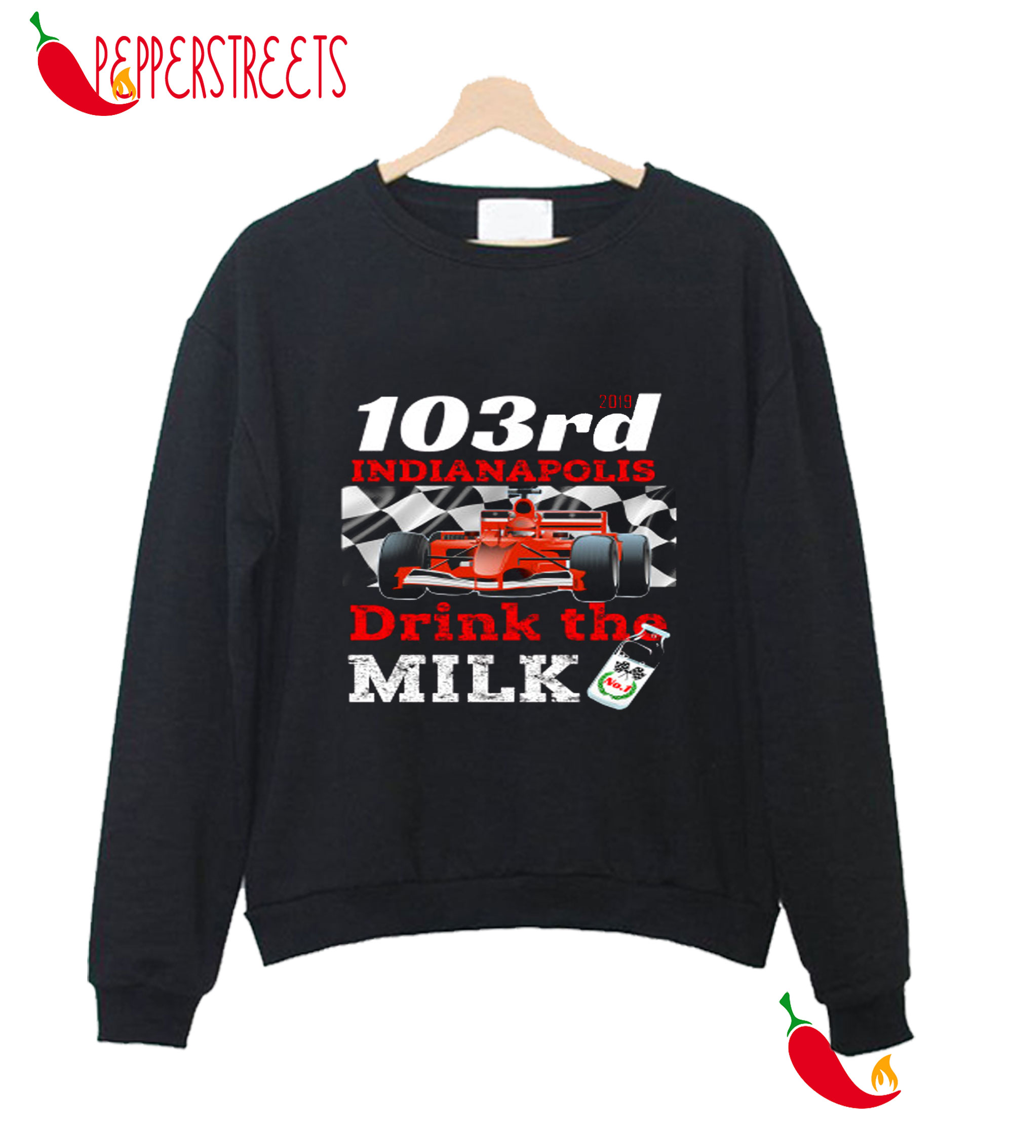 103 Rd Indiananapolis Drink The Milk Sweatshirt