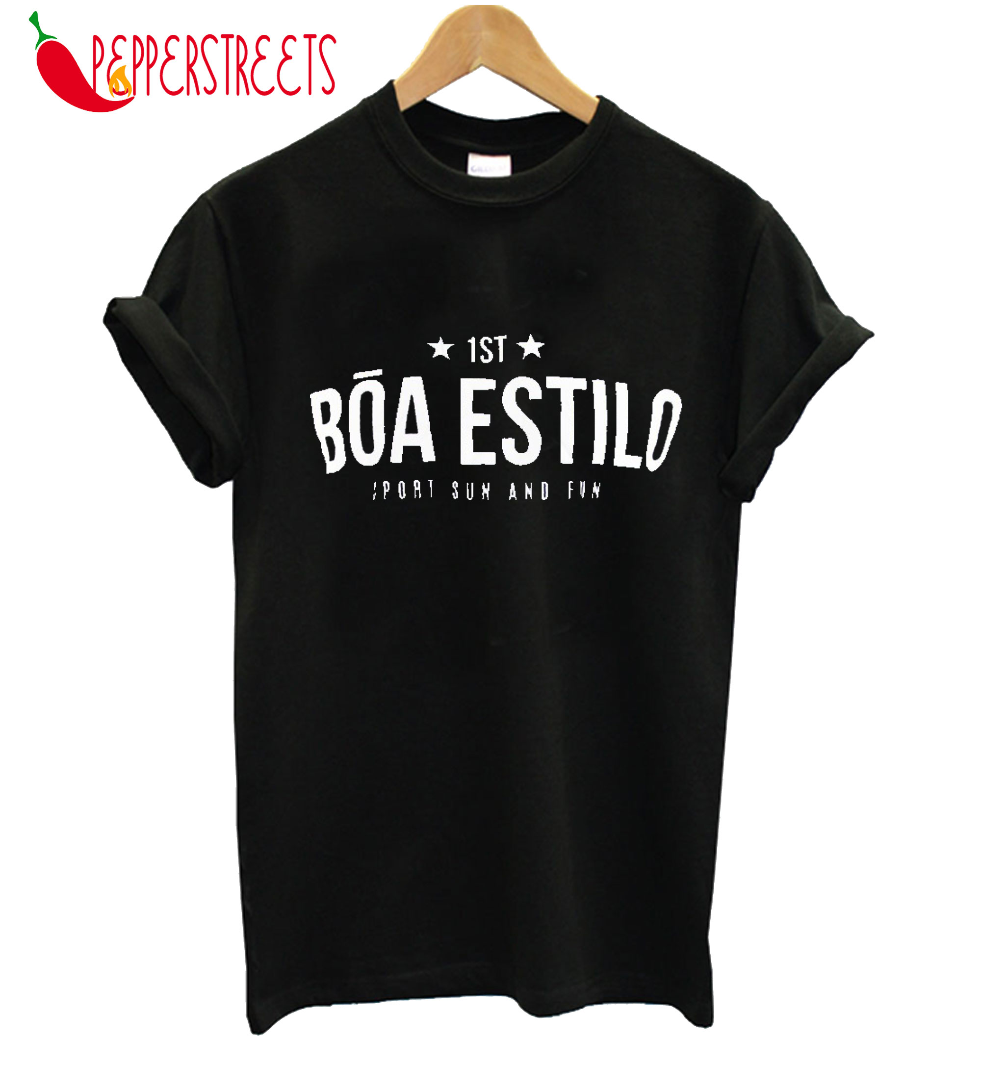 1ST Boa Estilo Sports Sun And Fun T-Shirt