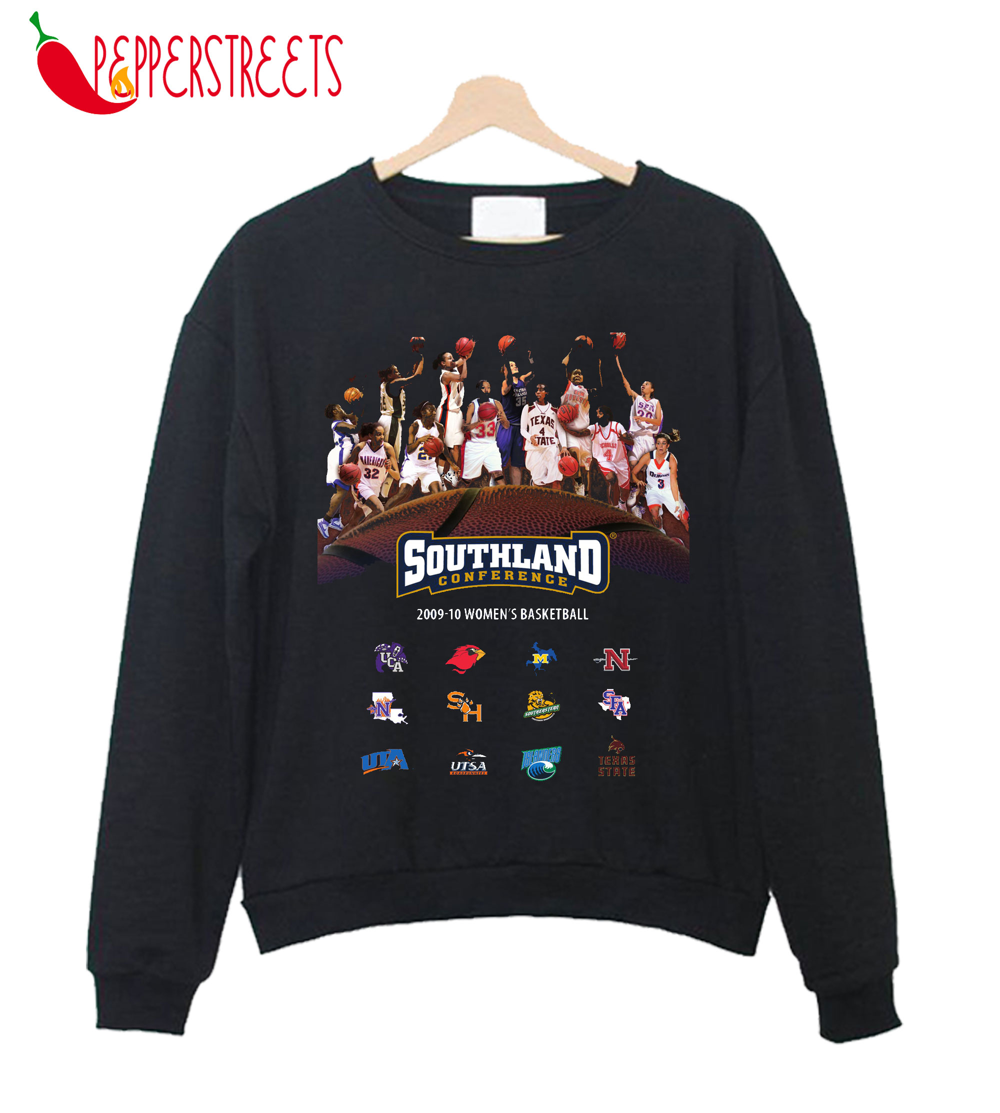 2009-10 Southland Conference Women's Basketball Sweatshirt