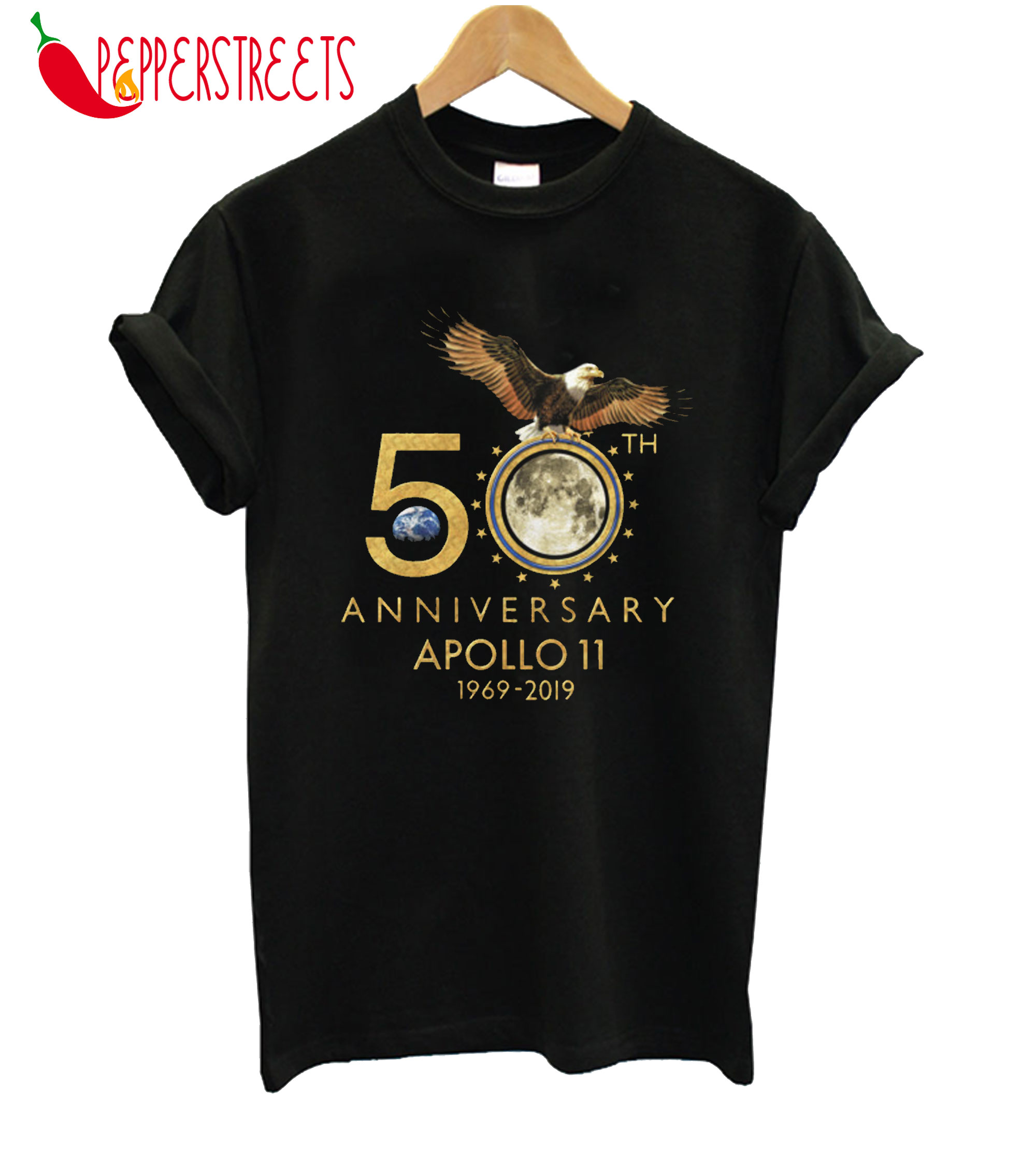 50 Th Anniversary Apollo 11 1969-2019 T-Shirt