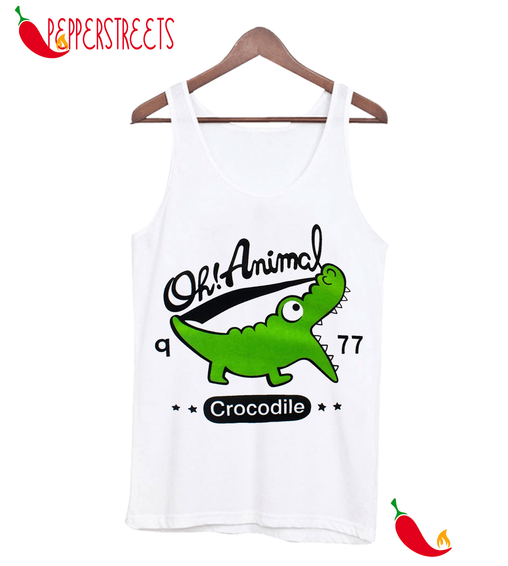 Betusline Kids Baby Boys Cartoon crocodile Tank Top