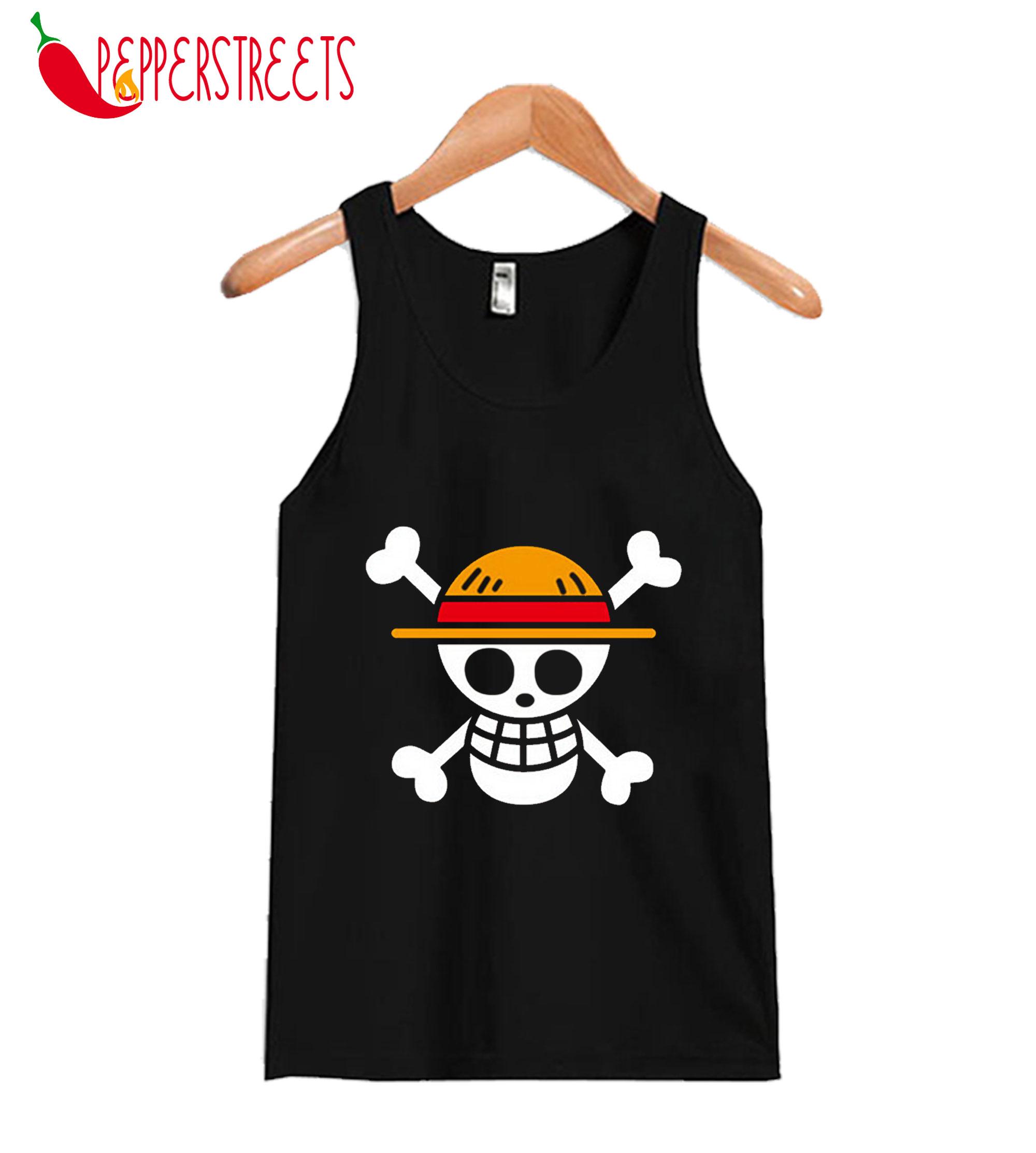 Compre One Piece Camisetas Designer Anime Tank Top