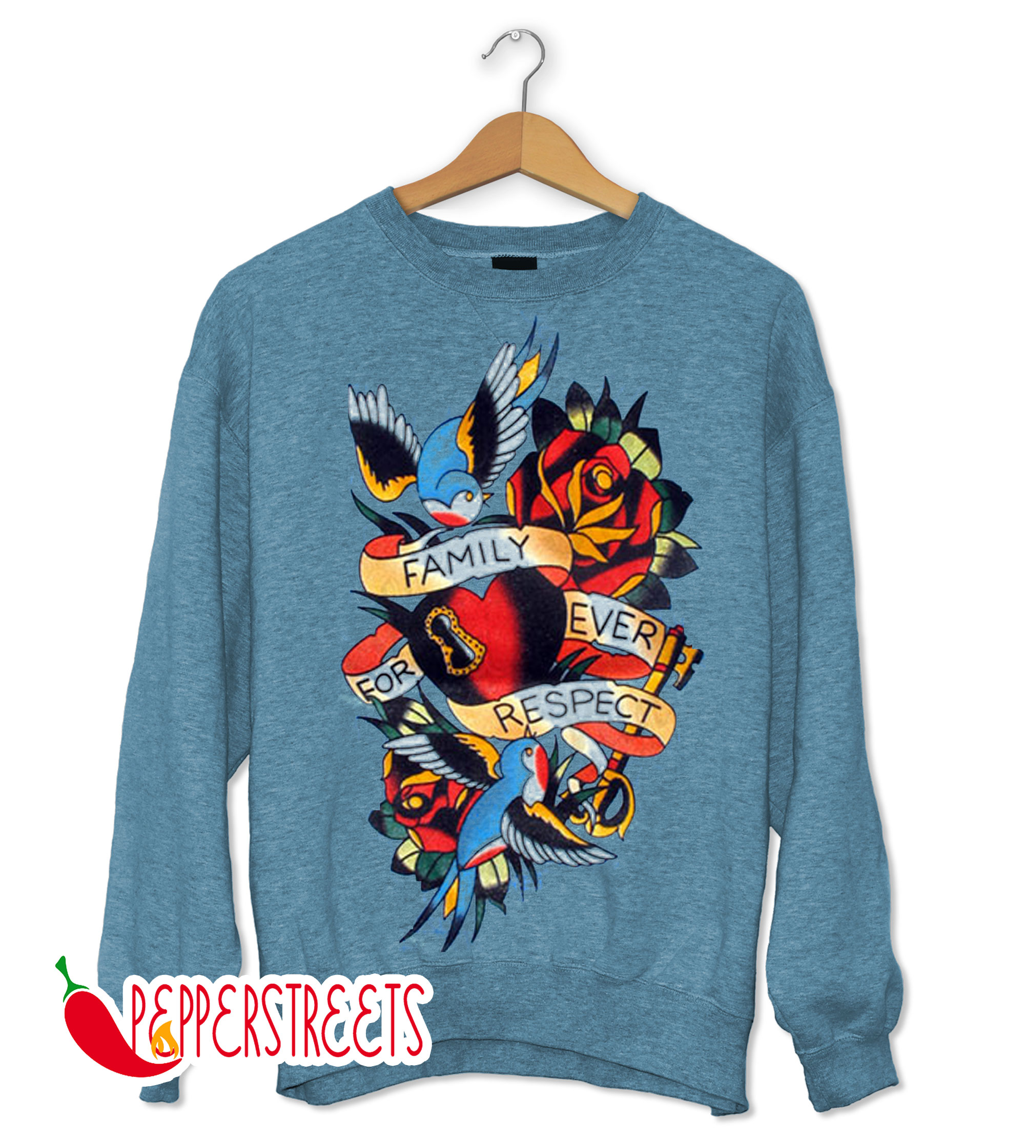 Family Forever Respect Baby Onesie Sweatshirt