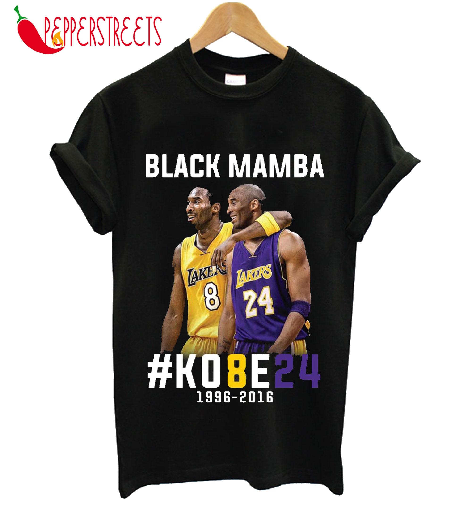 Kobe Bryant Black Mamba T-Shirt