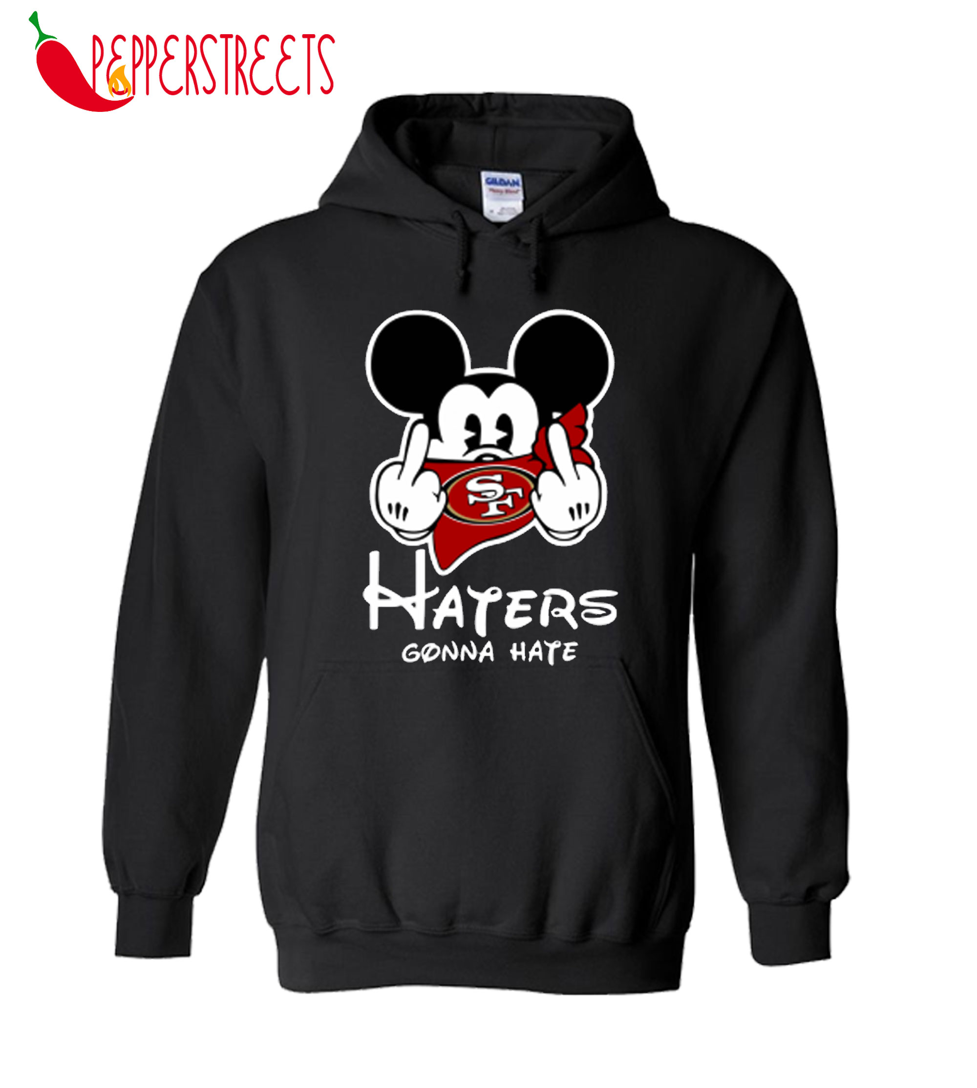 Mickey Mouse Haters Gonna Hate Hoodie