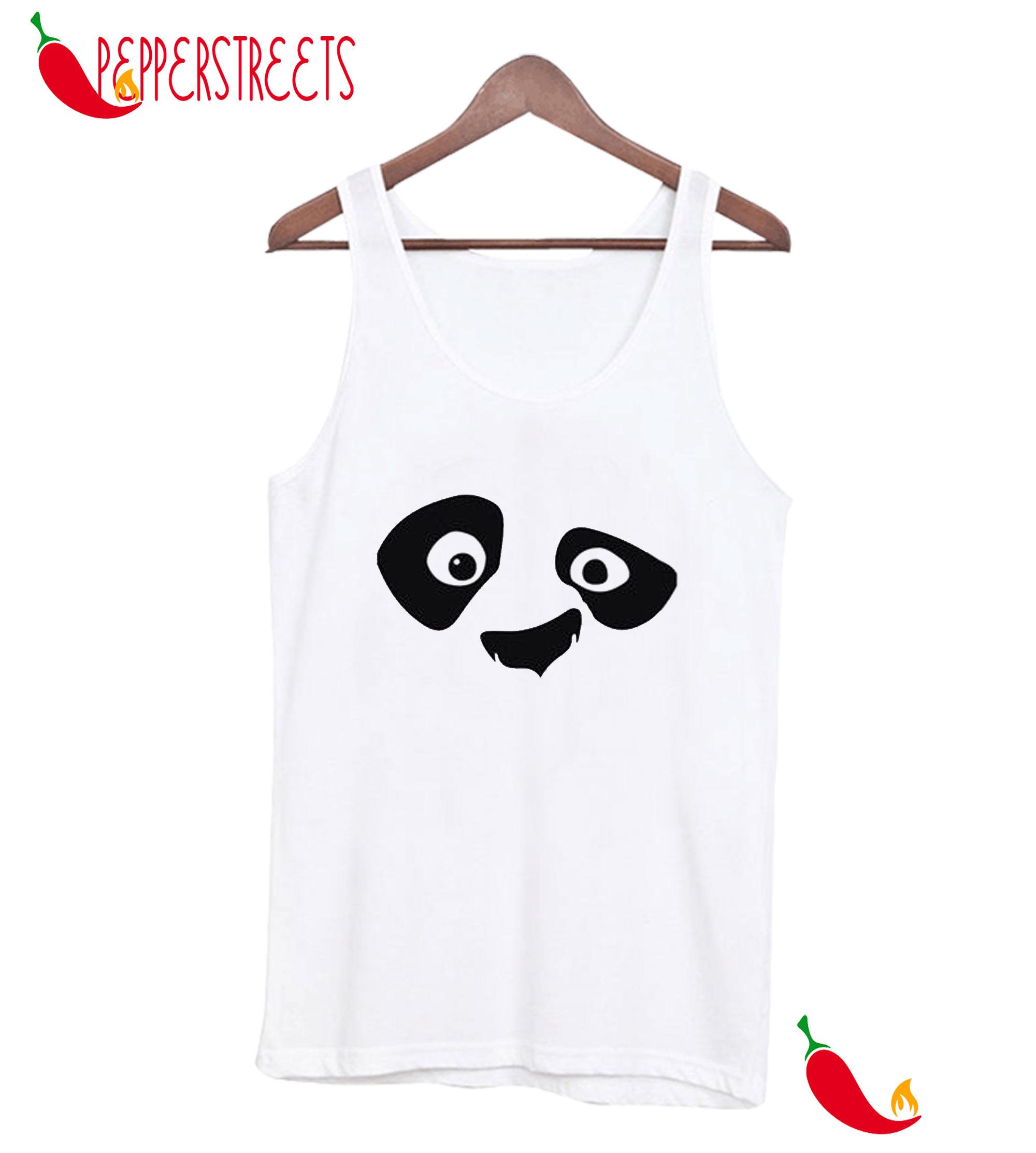 Minimal Panda Half Sleeve Front Bewakoof Tank Top