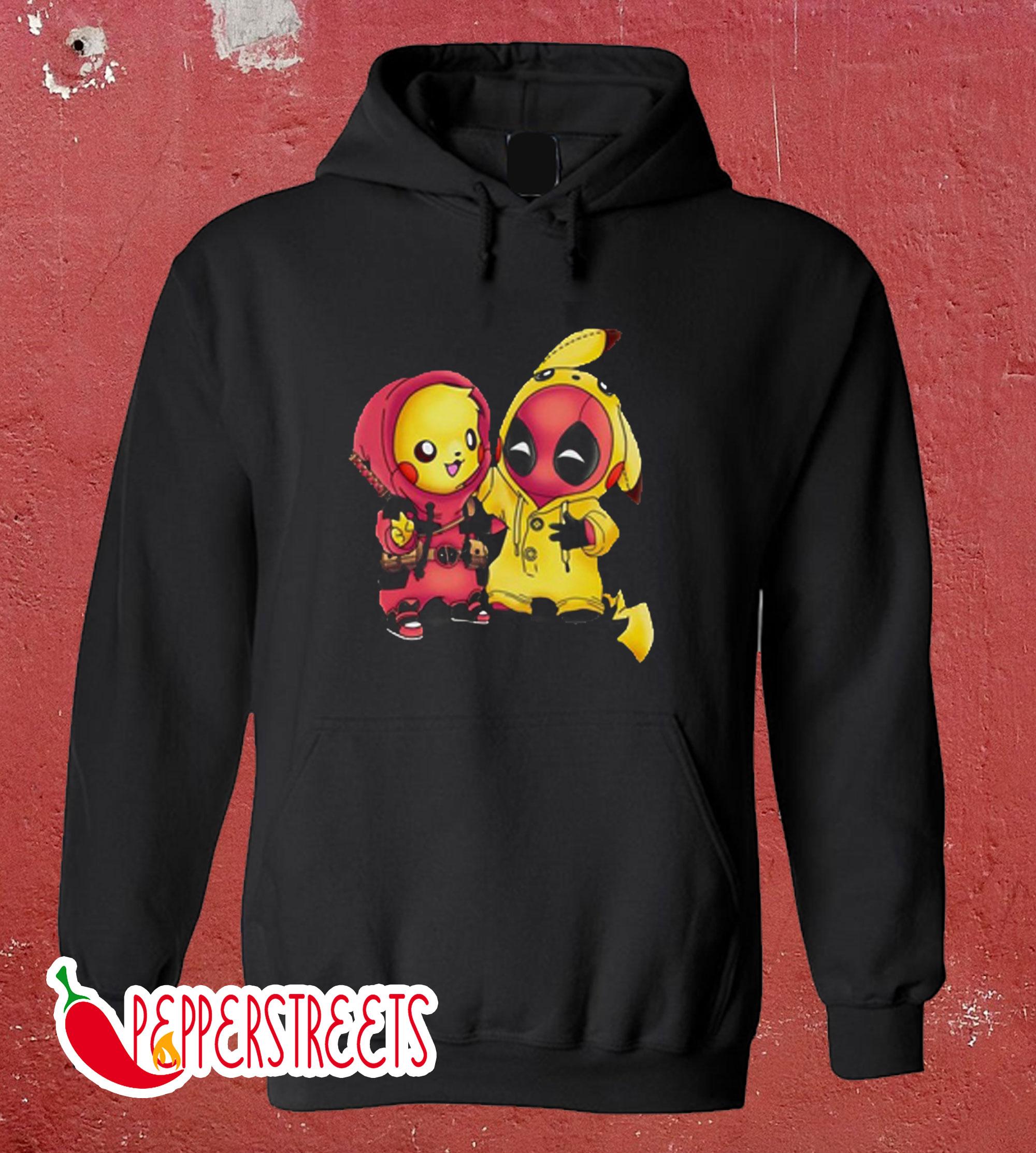 Pikapool Pikachu Deadpool Hoodie (2)