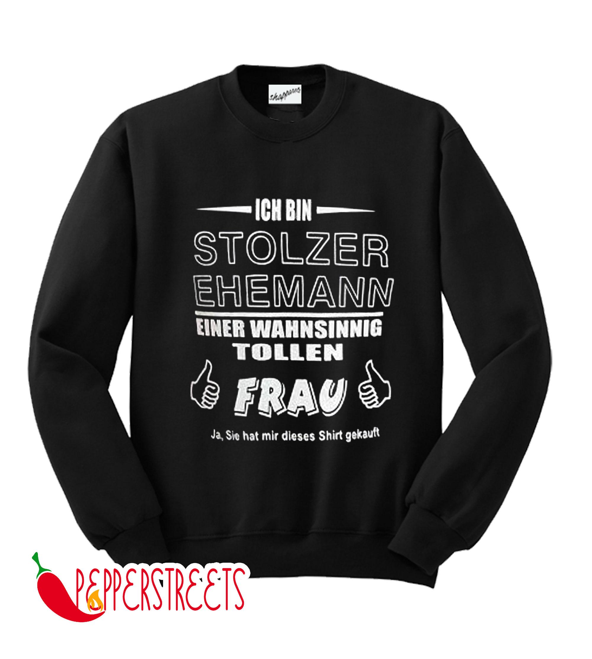 Textil Druck Mannheim Sweatshirt