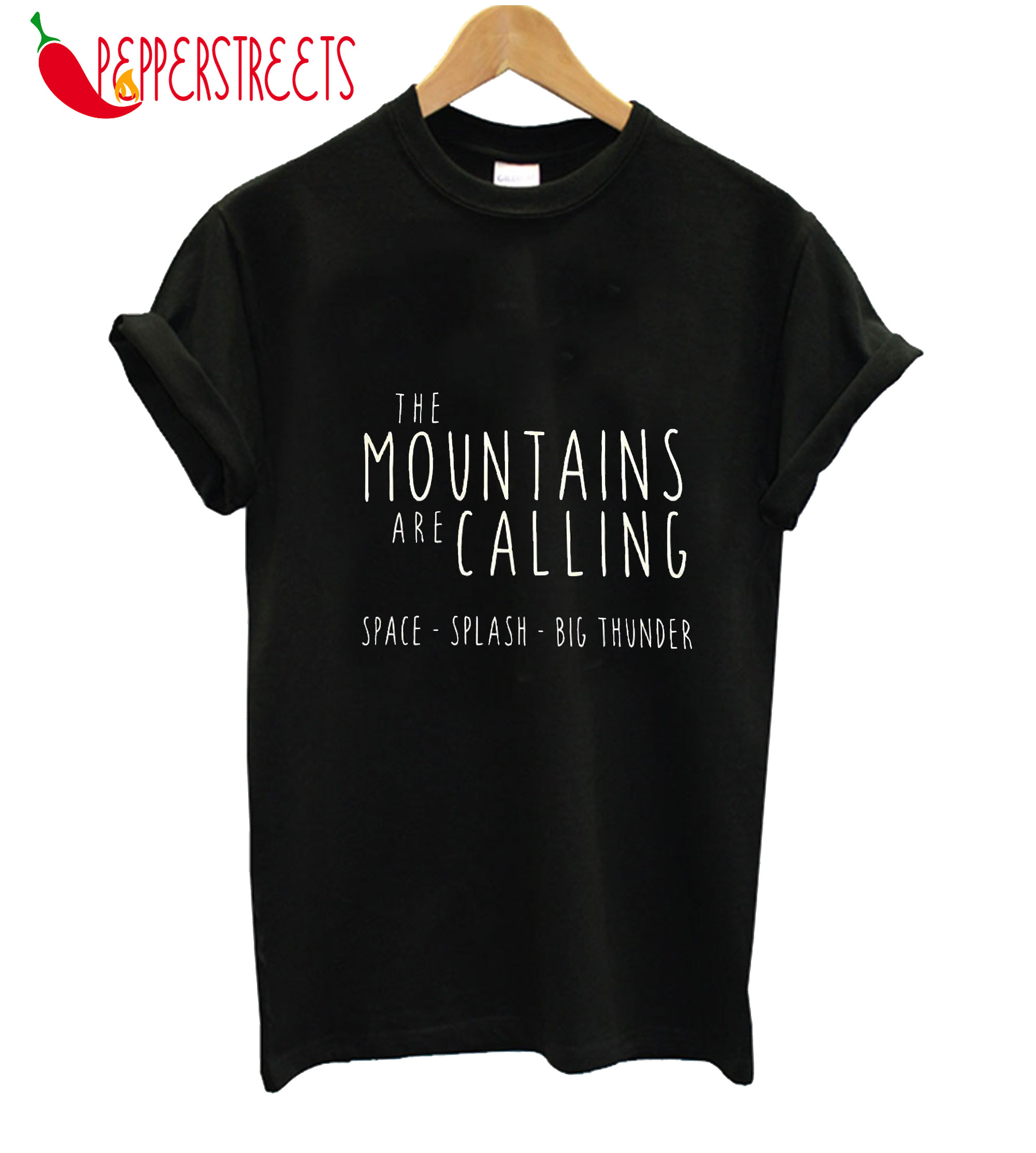 The Disney Mountains Are Calling Crew Neck T-Shirt