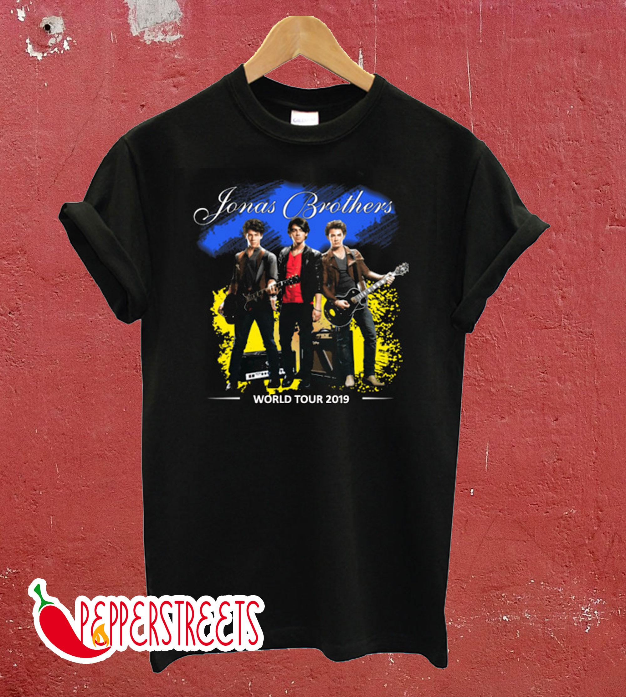 The Jonas Brothers World Tour T-Shirt