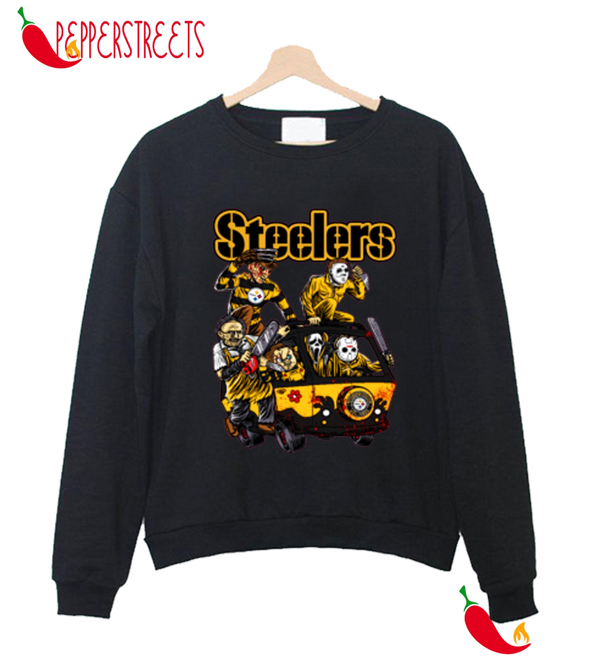 The Killers Club Pittsburgh Halloween Steelers Sweatshirt