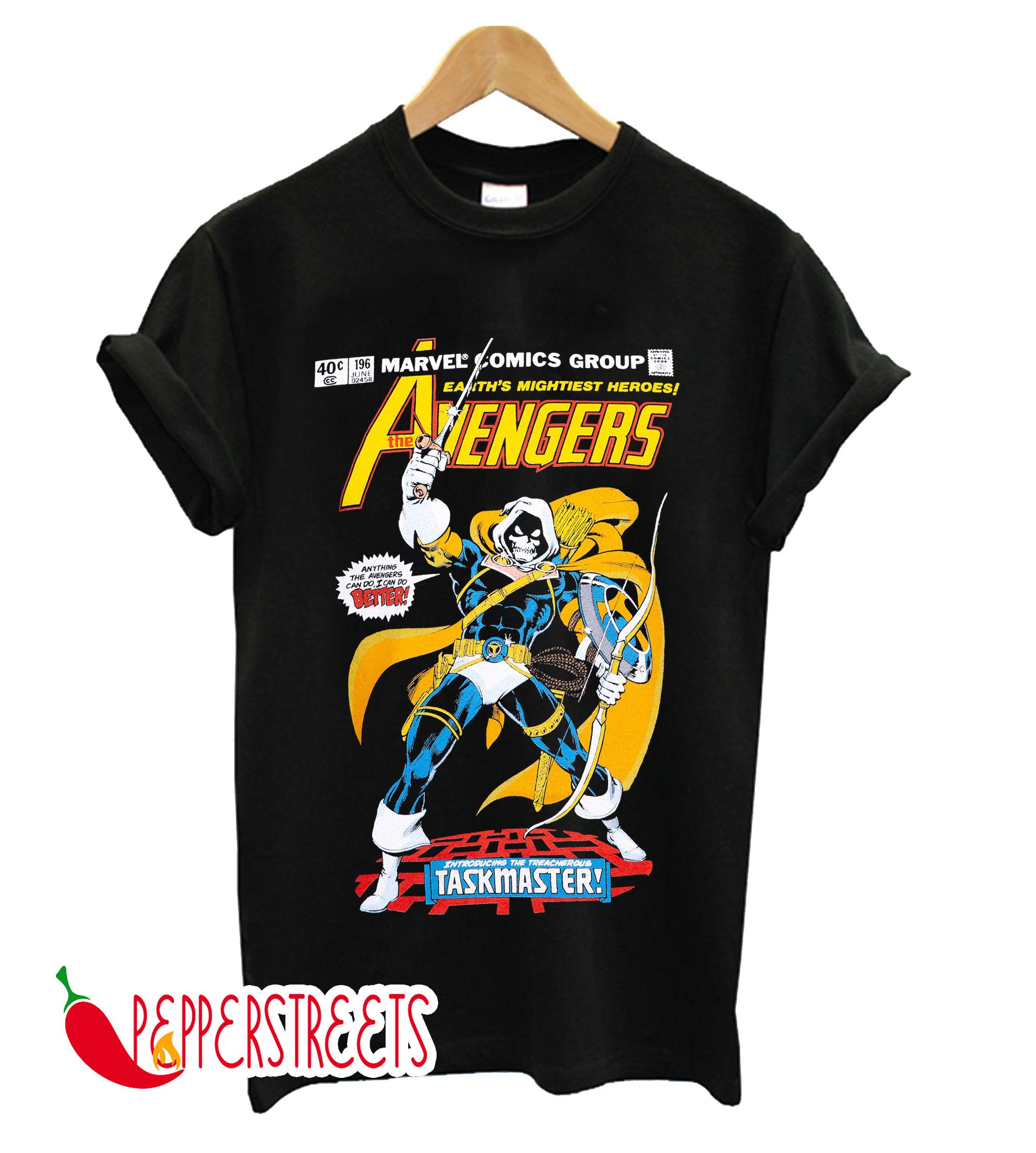 The Taskmaster Avengers T-Shirt