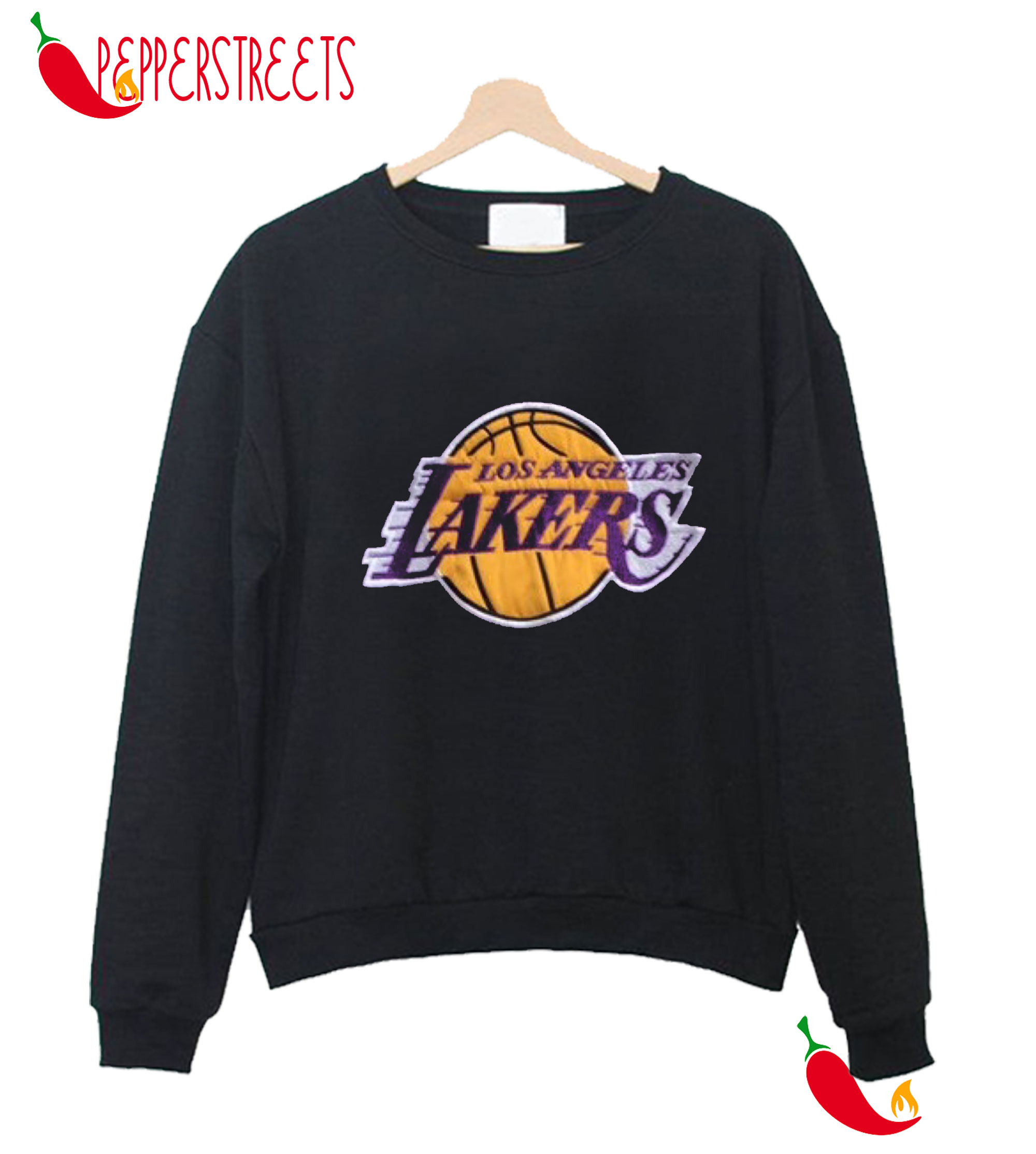 Vintage 90S La Lakers Crewneck Sweatshirt