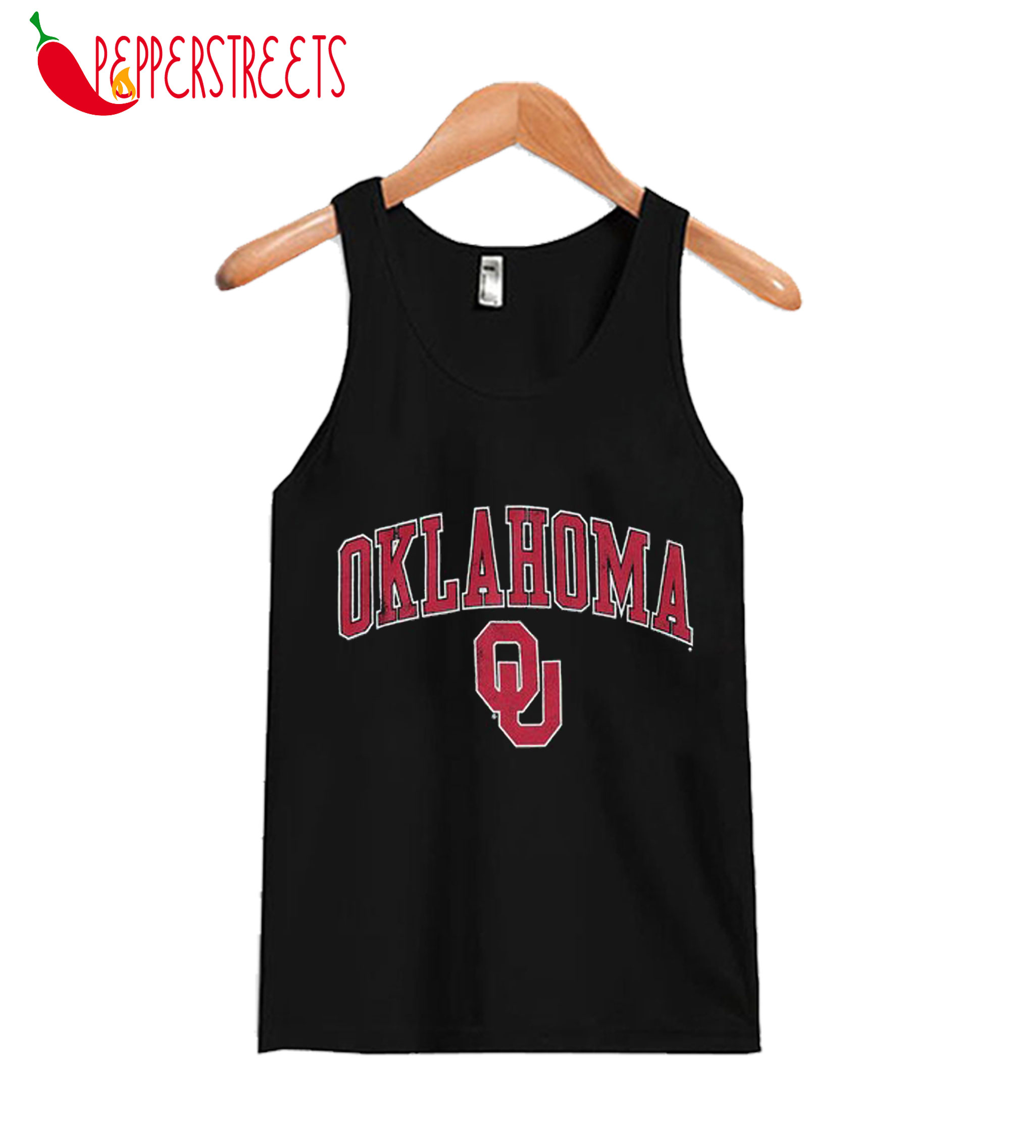 Youth Fanatics Branded Black Oklahoma Tank Top