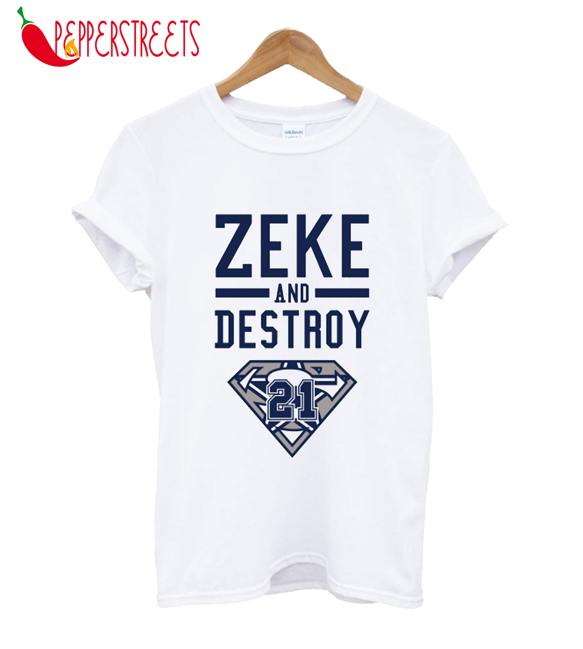 Zeke And Destroy 21 T-Shirt
