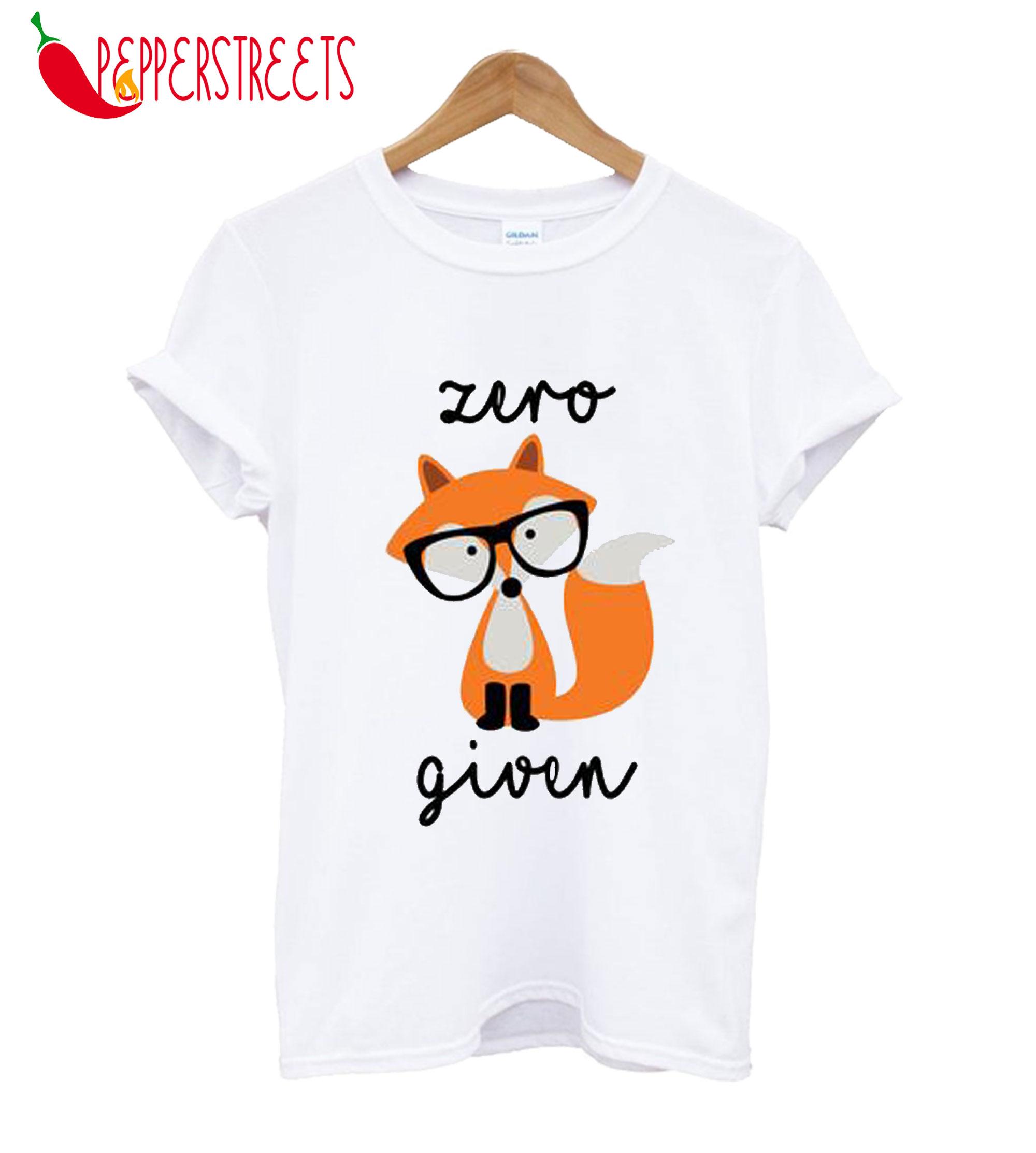 Zero Fox Given Navy Rag T-Shirt