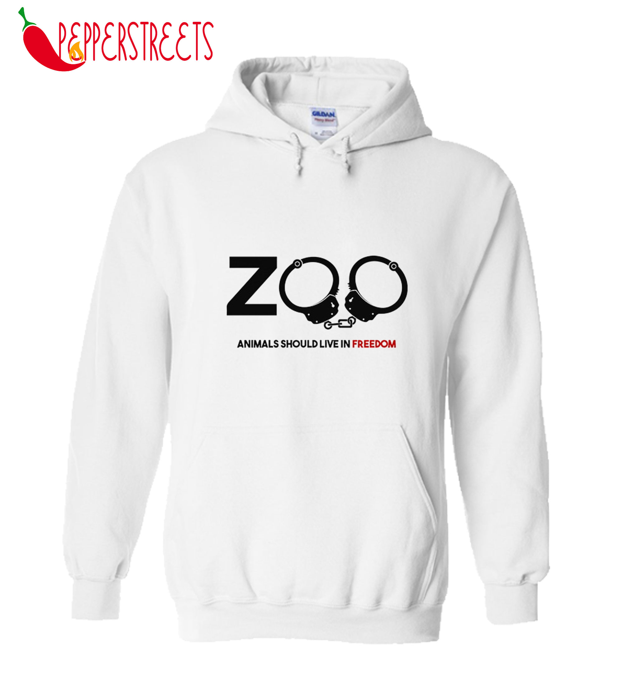 Zoo Animals Should Live In Freedom Hoodie