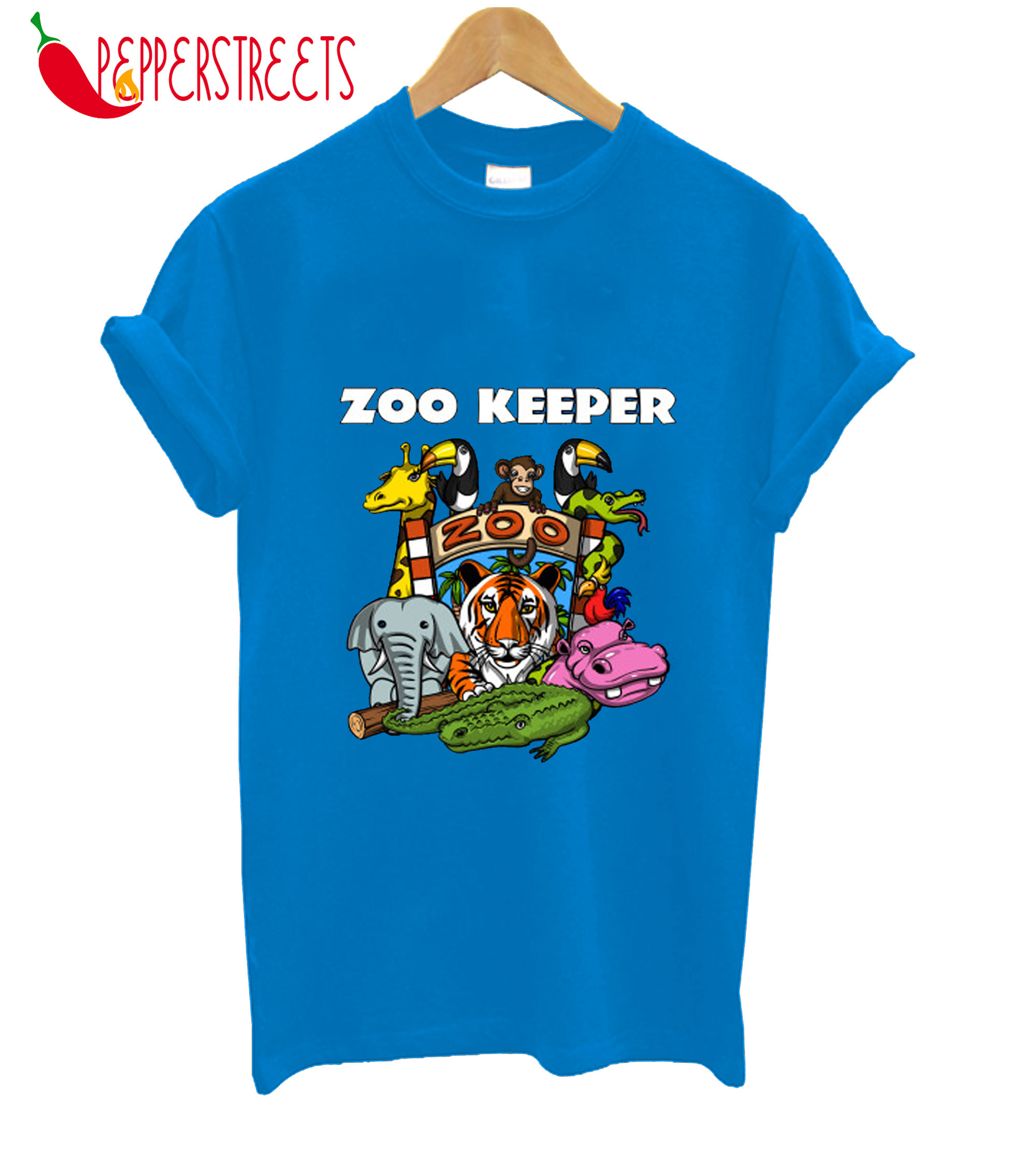 Zoo Keeper For Boys And Girls Funny Gift T-Shirt