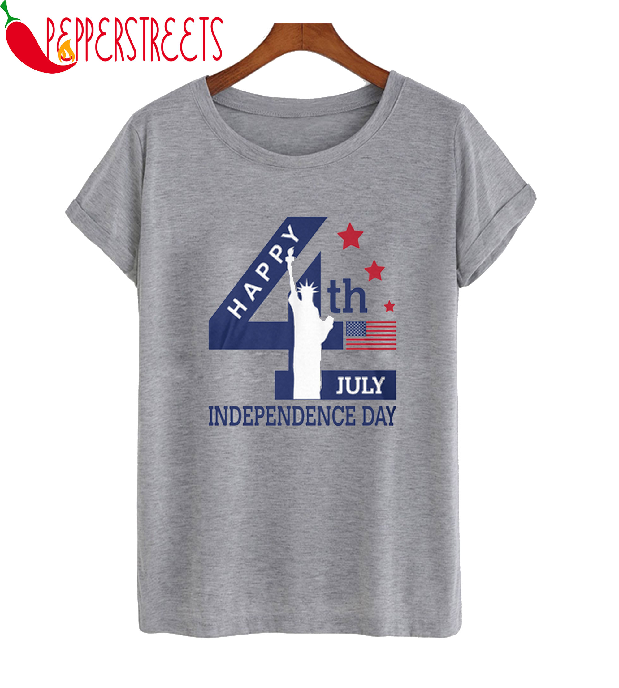 4 July Independence USA T-Shirt