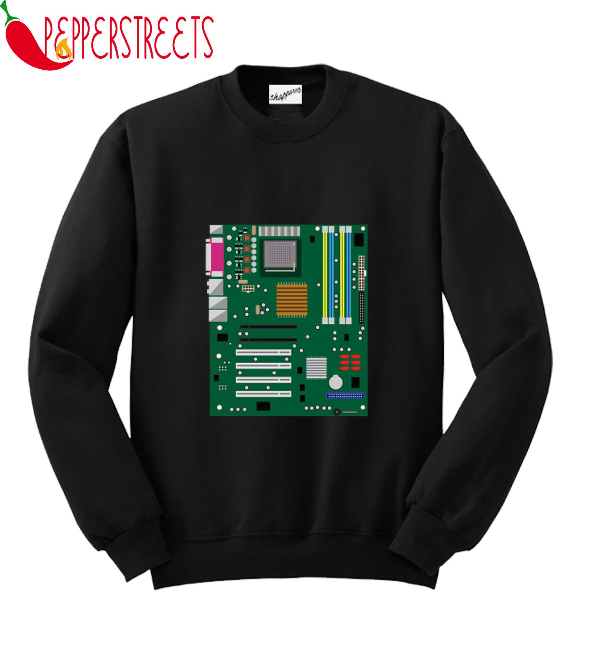 Computer Engineering Motherboard Hardware Sweatshirt