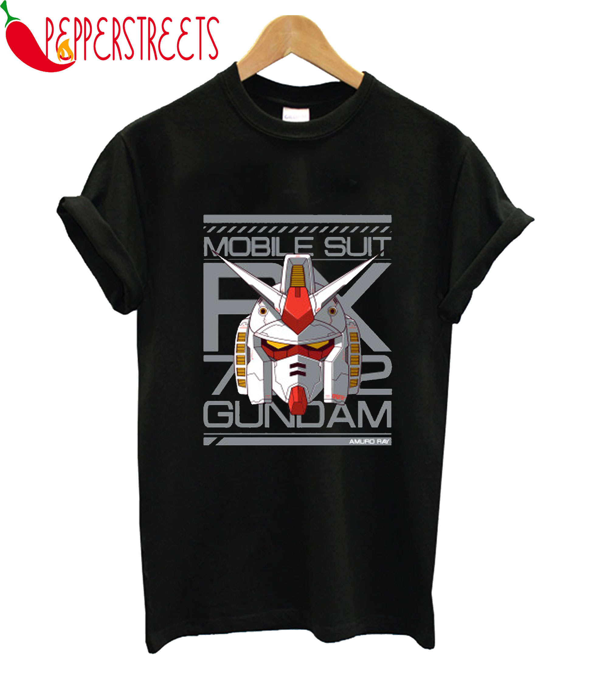 Mobile Suit Rk 72 Gundam T-Shirt