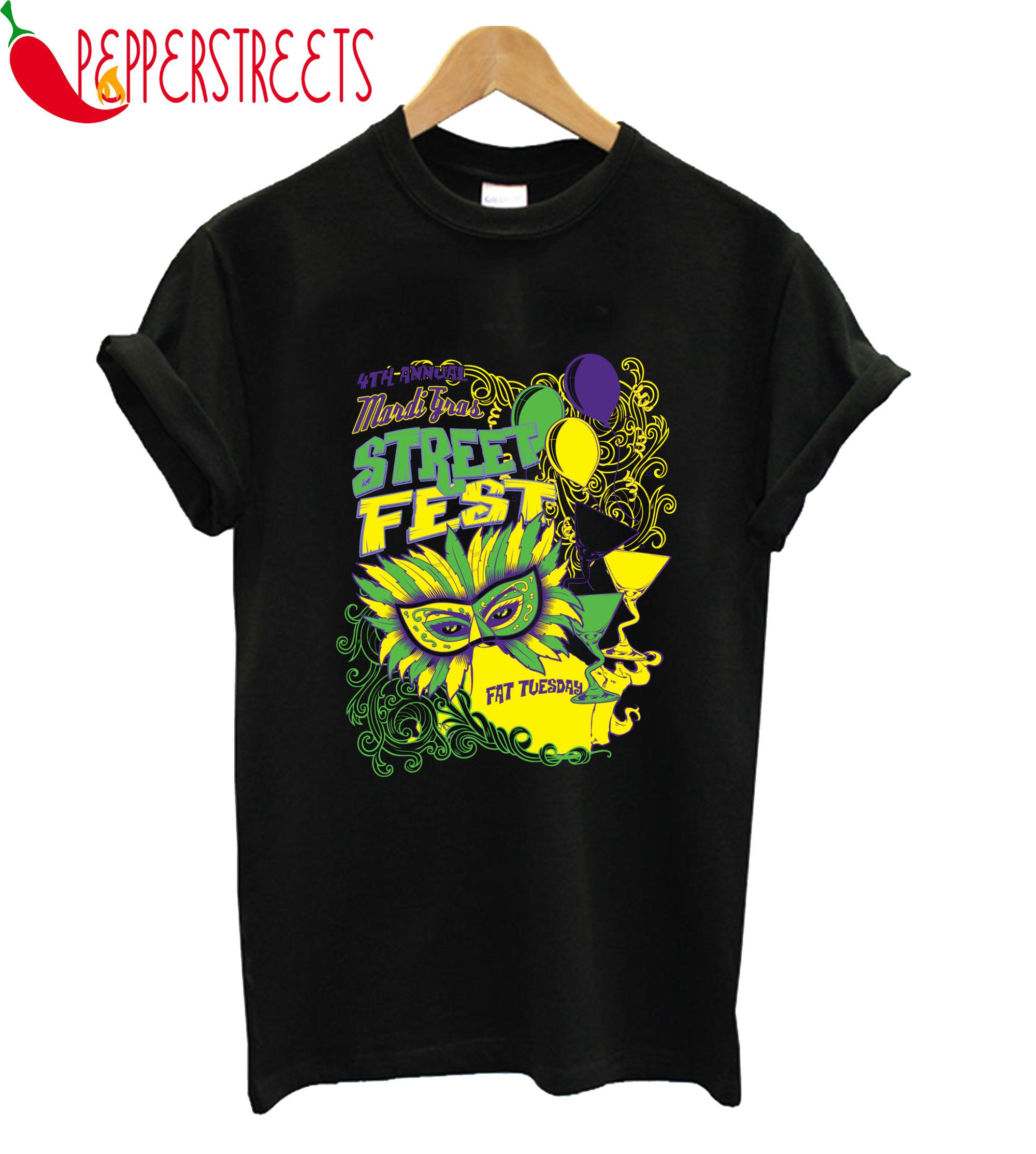 Street Fest Fat Tuesday T-Shirt