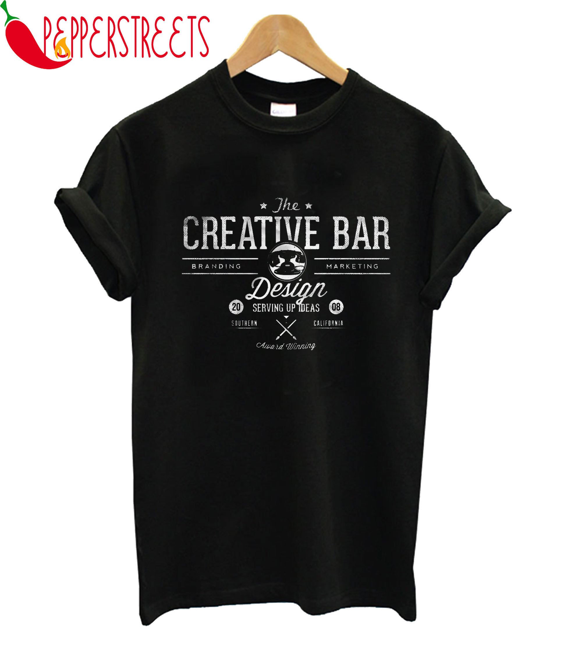 The Creative Bar Branding Marketing Design California T-Shirt