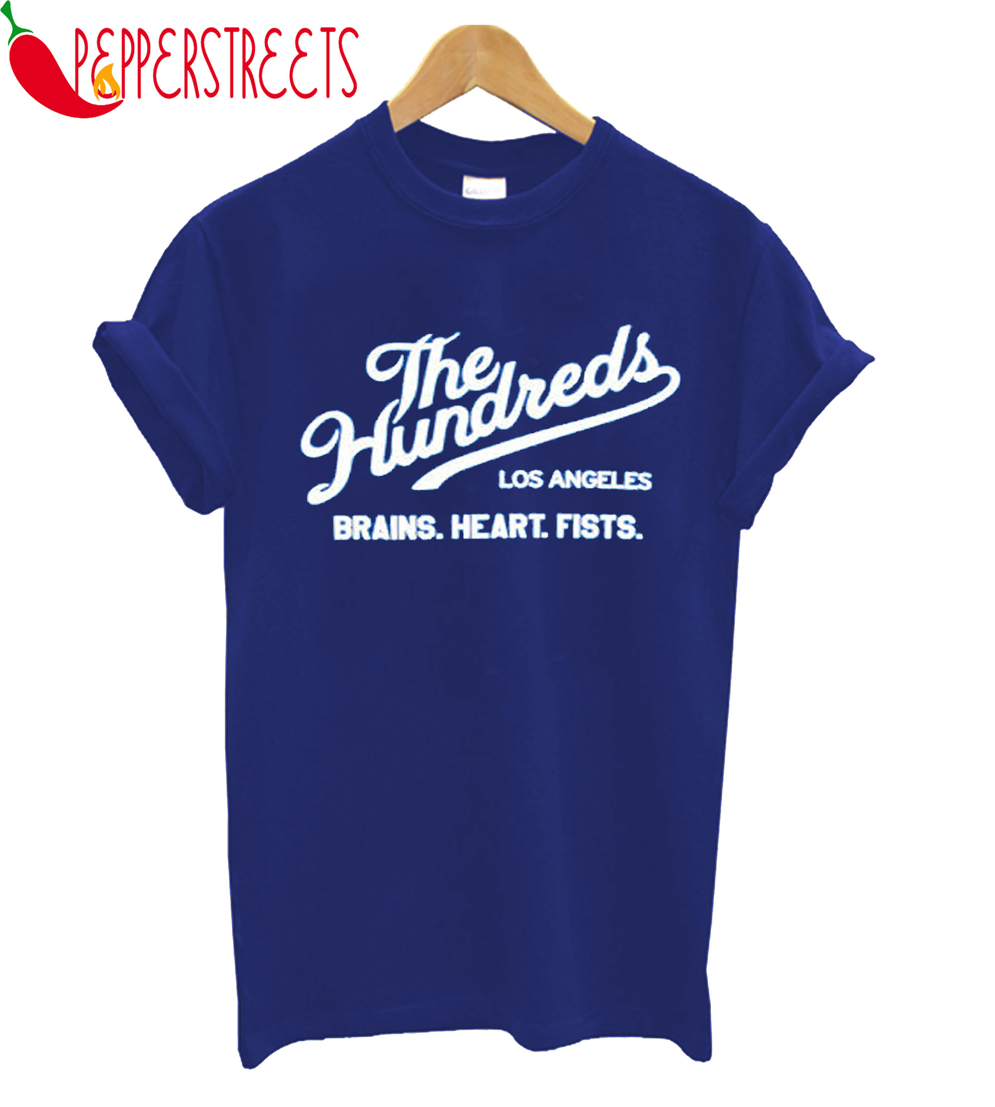 The Hundreds Los Angeles Brains Hearts Fists T-Shirt