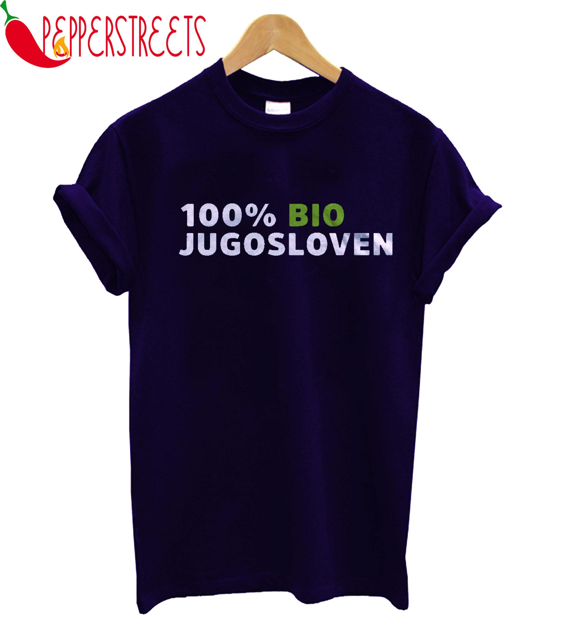 100% Bio Jugosloven T-Shirt