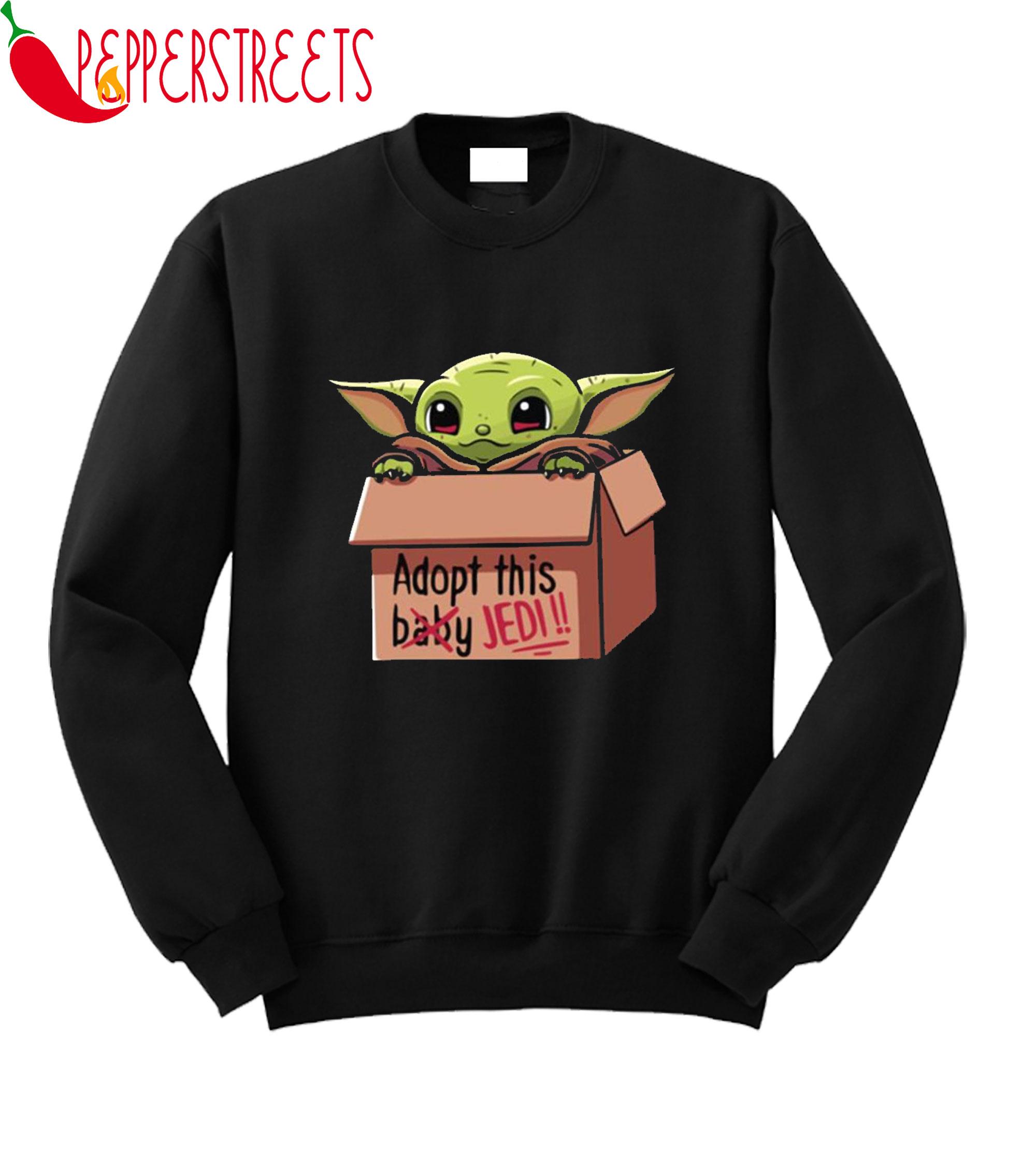 Adopt This Jedi Sweatshirt