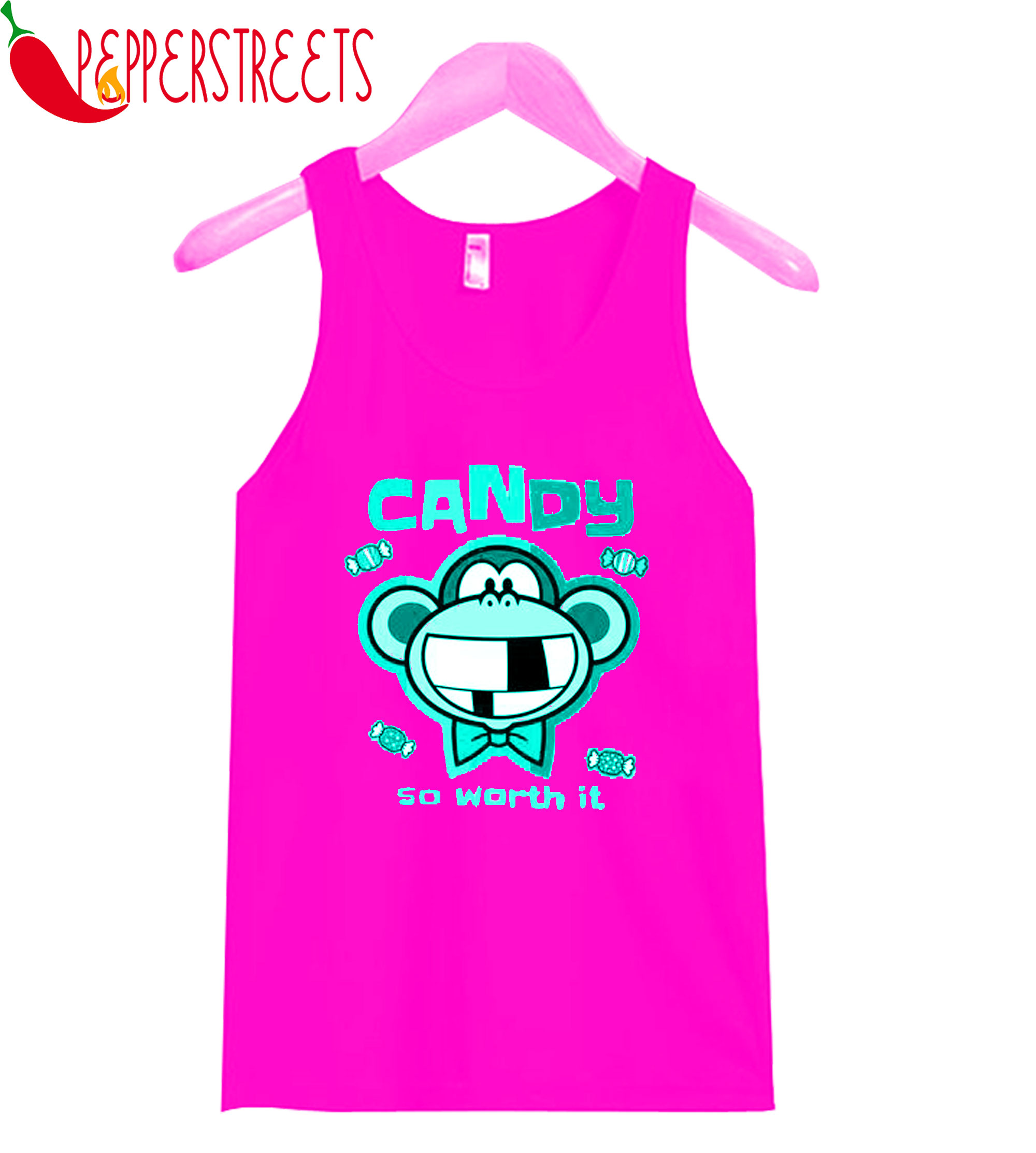 Candy So Worth It Tank-Top