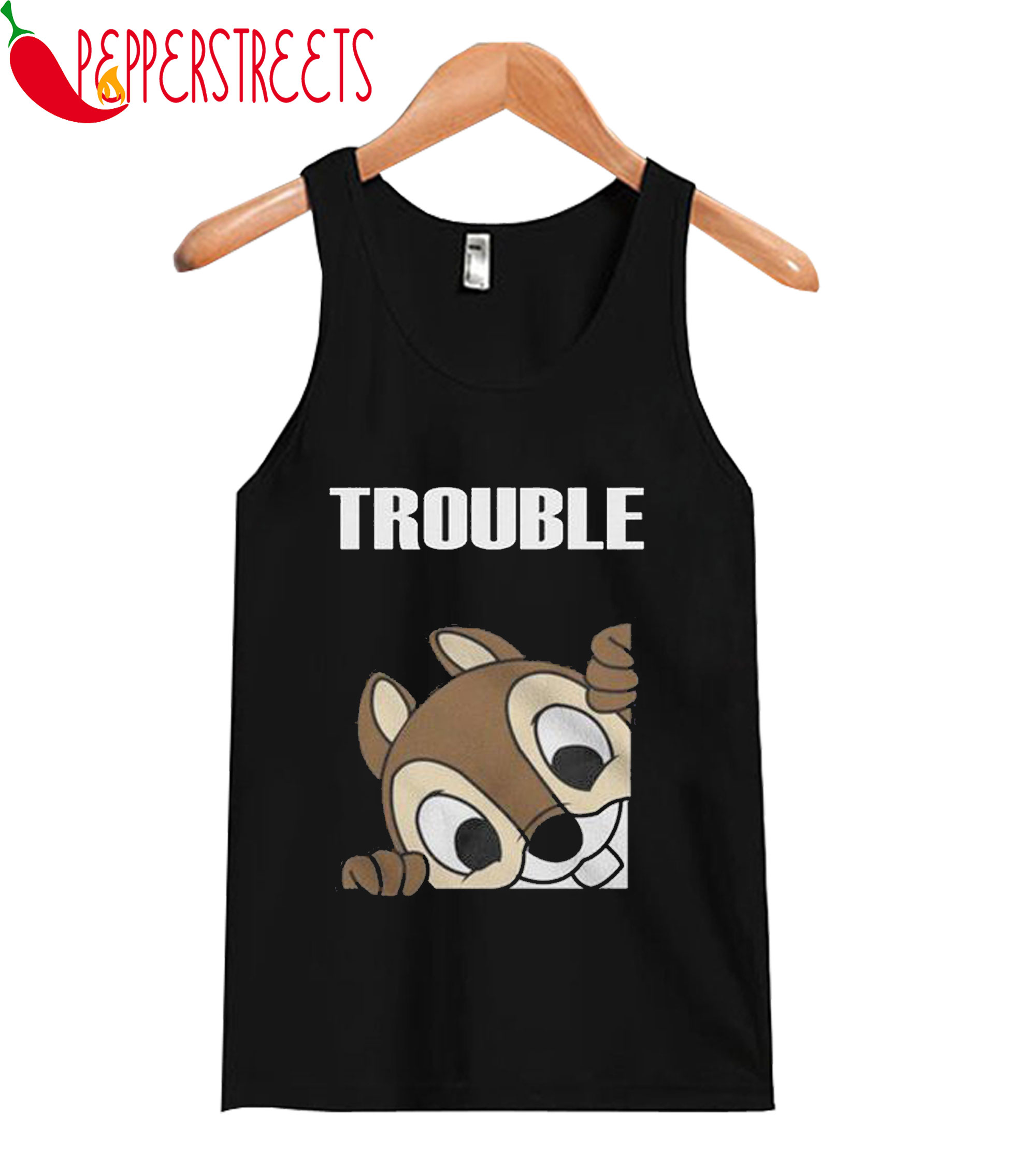 Trouble Squirrel Tank Top