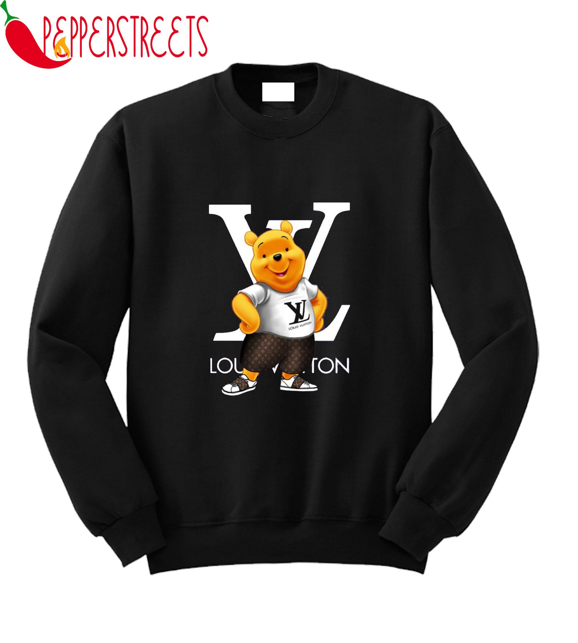 Winnie The Pooh Louis Vuitton Sweatshirt