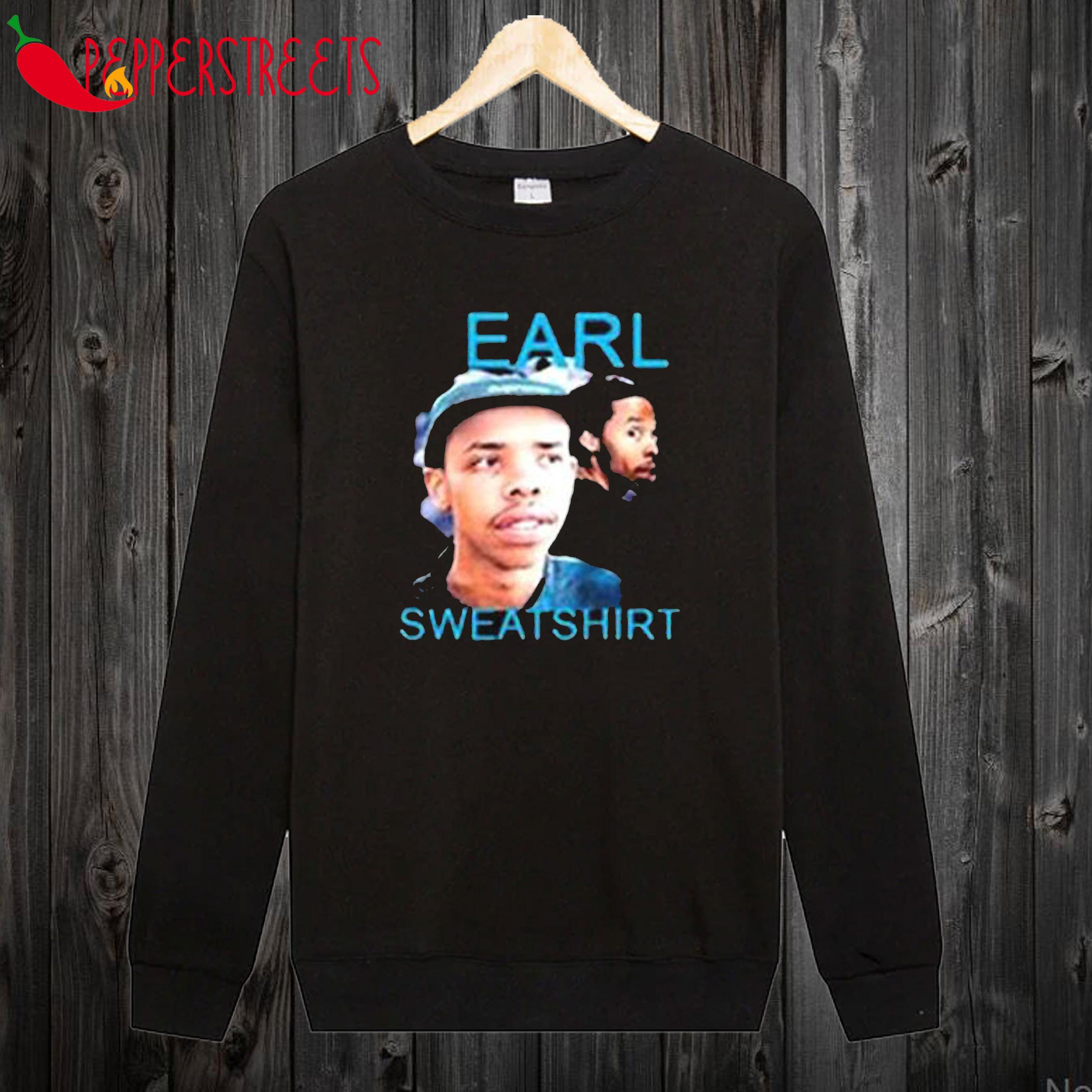 Earl Sweatshirt Black Sweatshirt