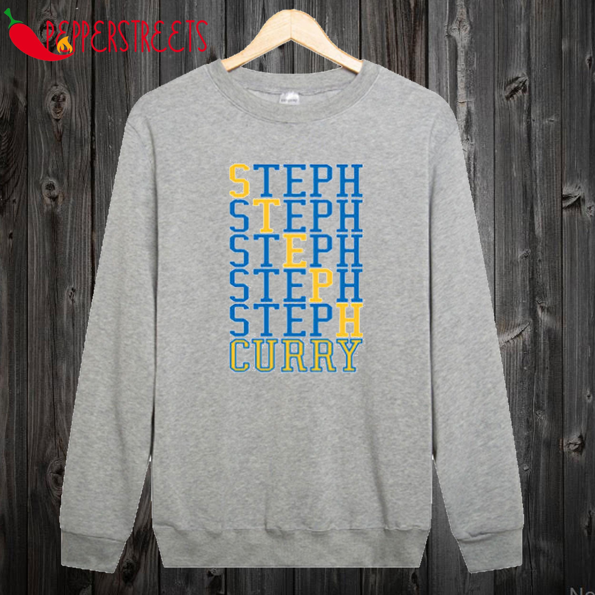 Steph Curry Word Sweatshirt