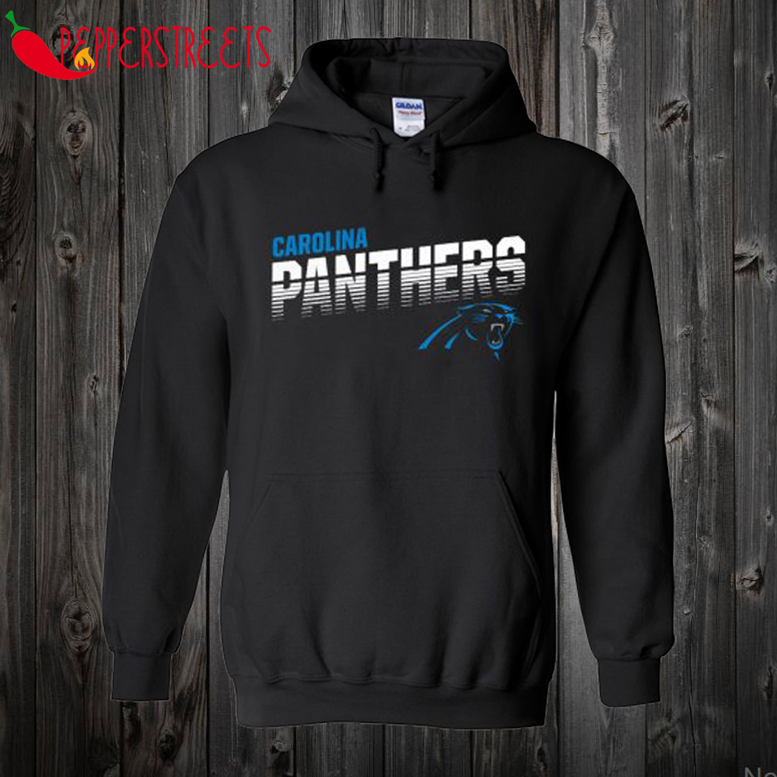 Youth Carolina Panthers Black Hoodie