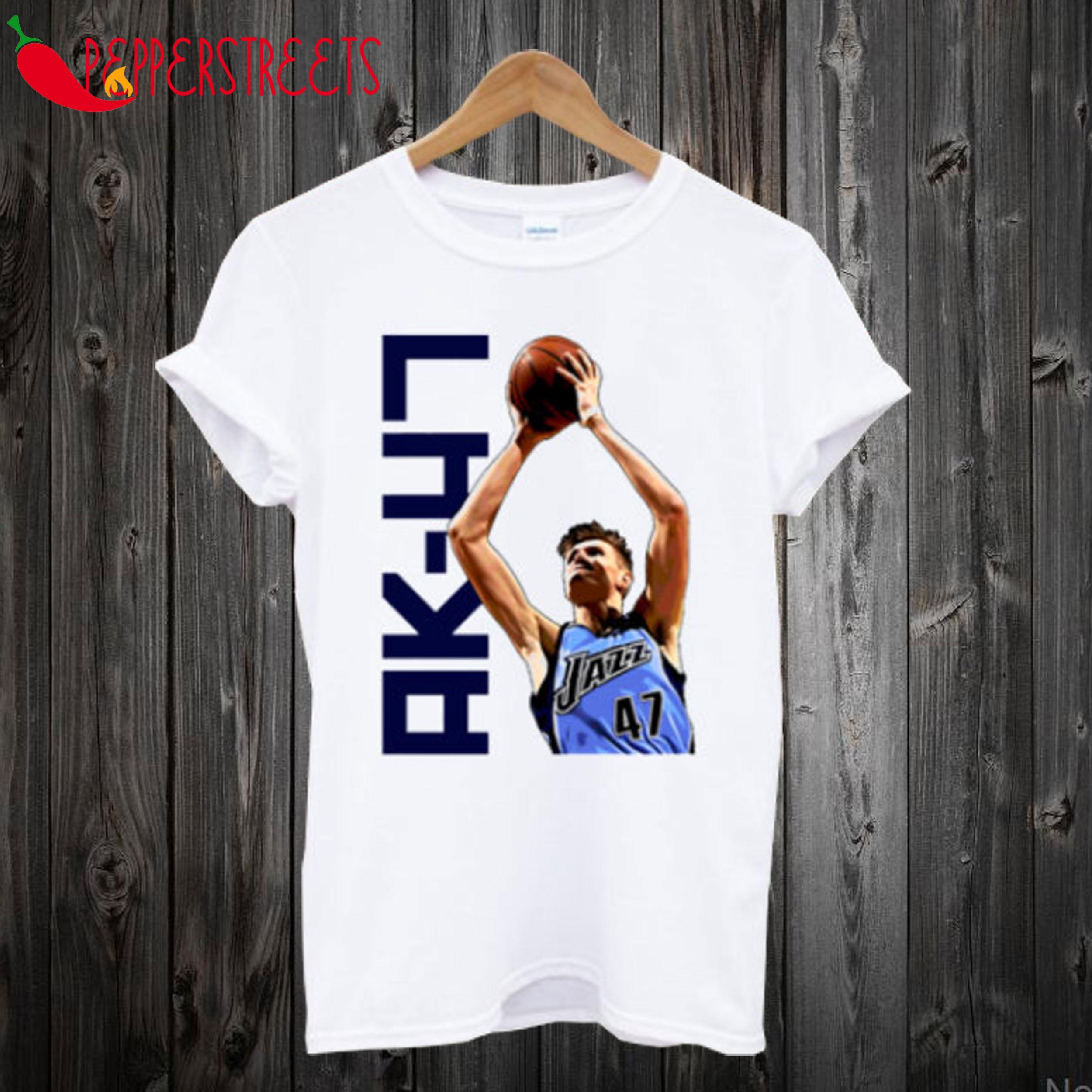 Andrei Kirilenko Basketball Player AK-47 T-Shirt