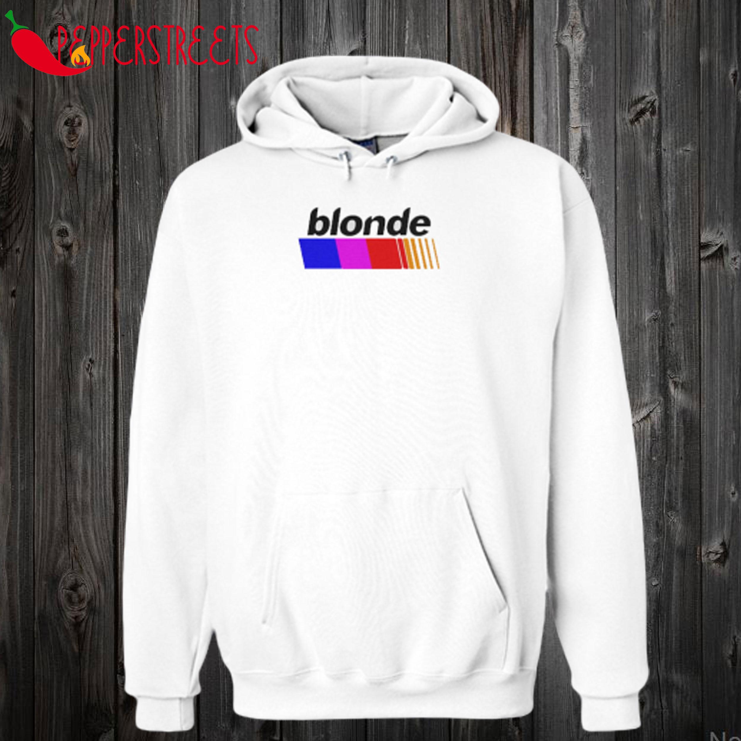 BLONDE White Hoodie