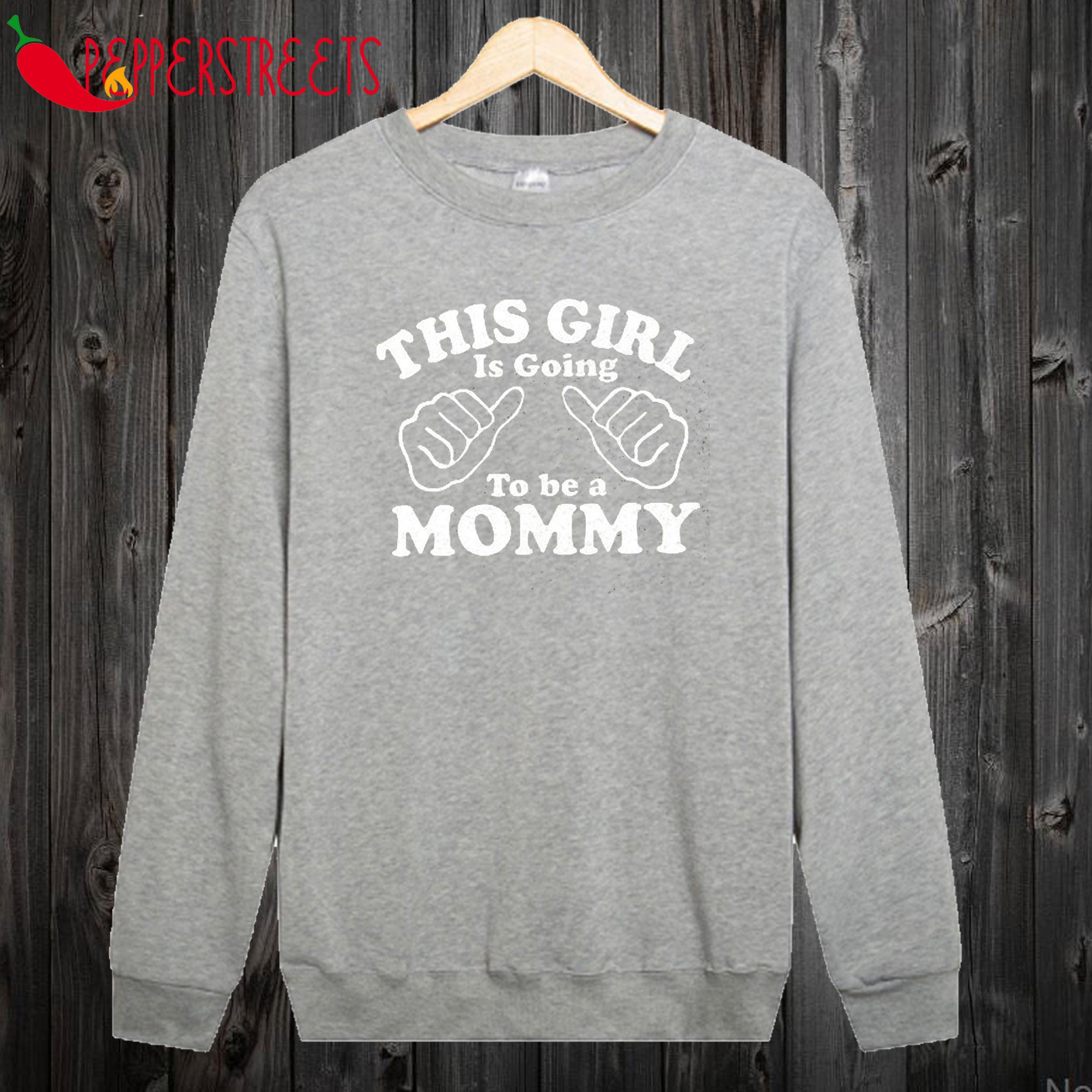 Baby Pregnancy Announcement Sweatshirt