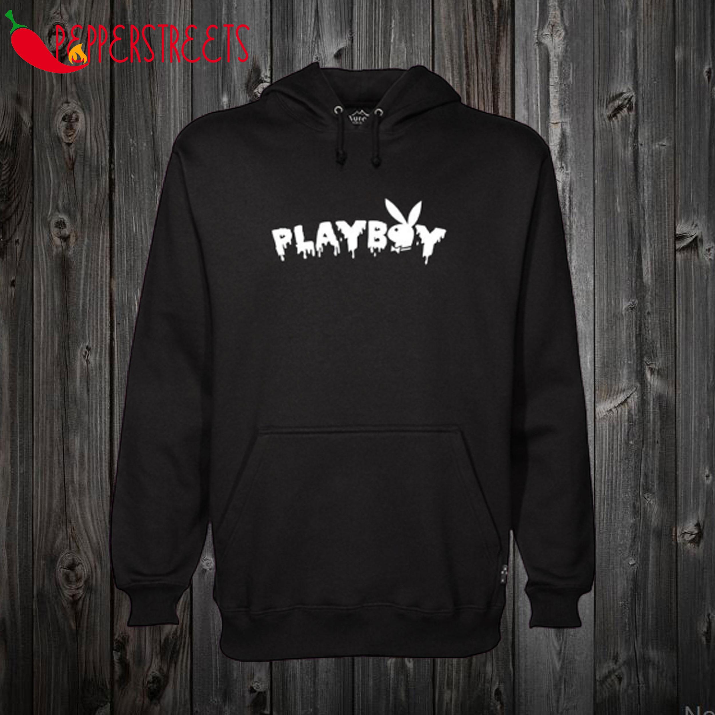 Playboy Black Slime Hoodie
