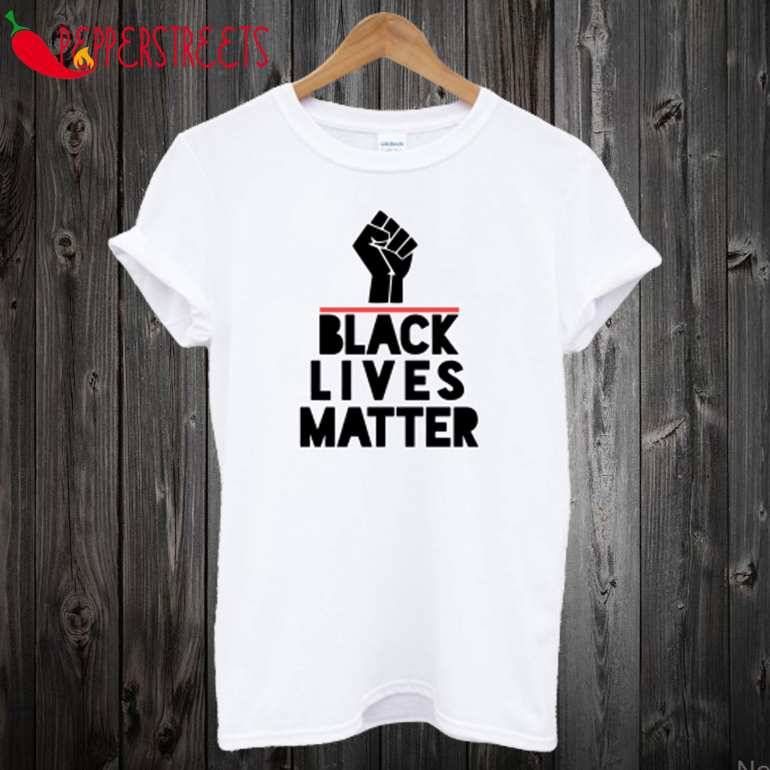 Rise Hand Black Lives Matter T-Shirt