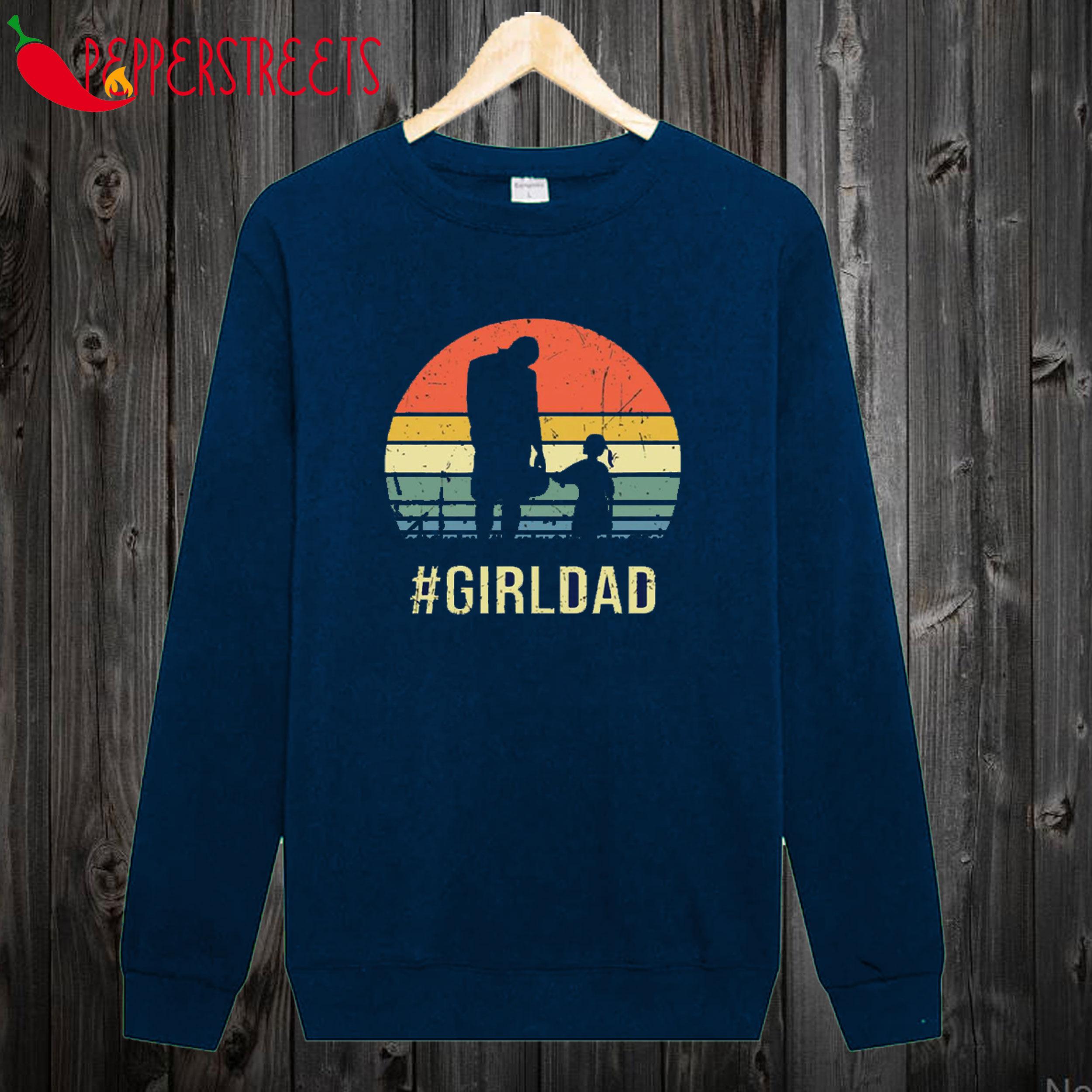 Vintage Girl Dad Sweatshirt