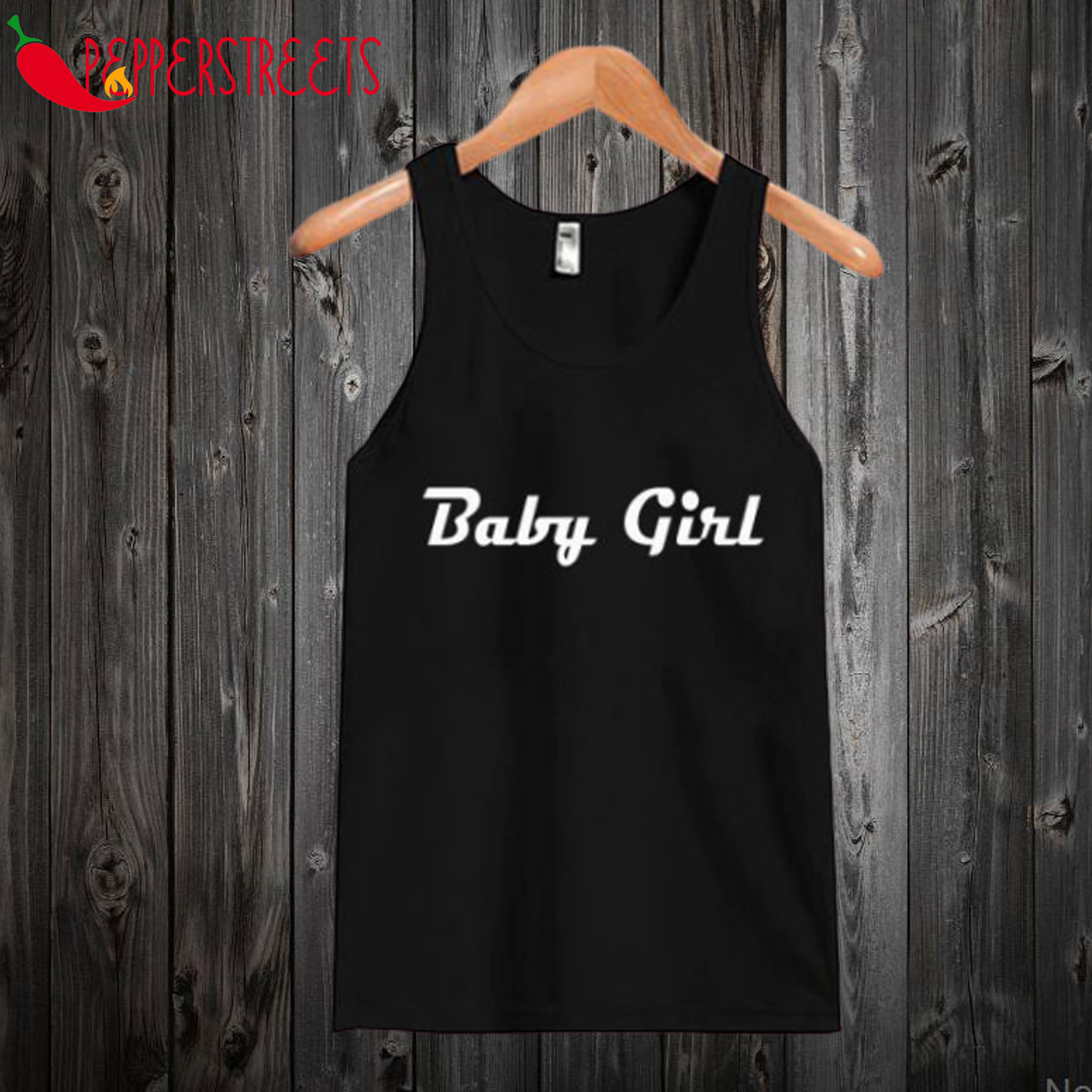 Baby Girl Black Tank top